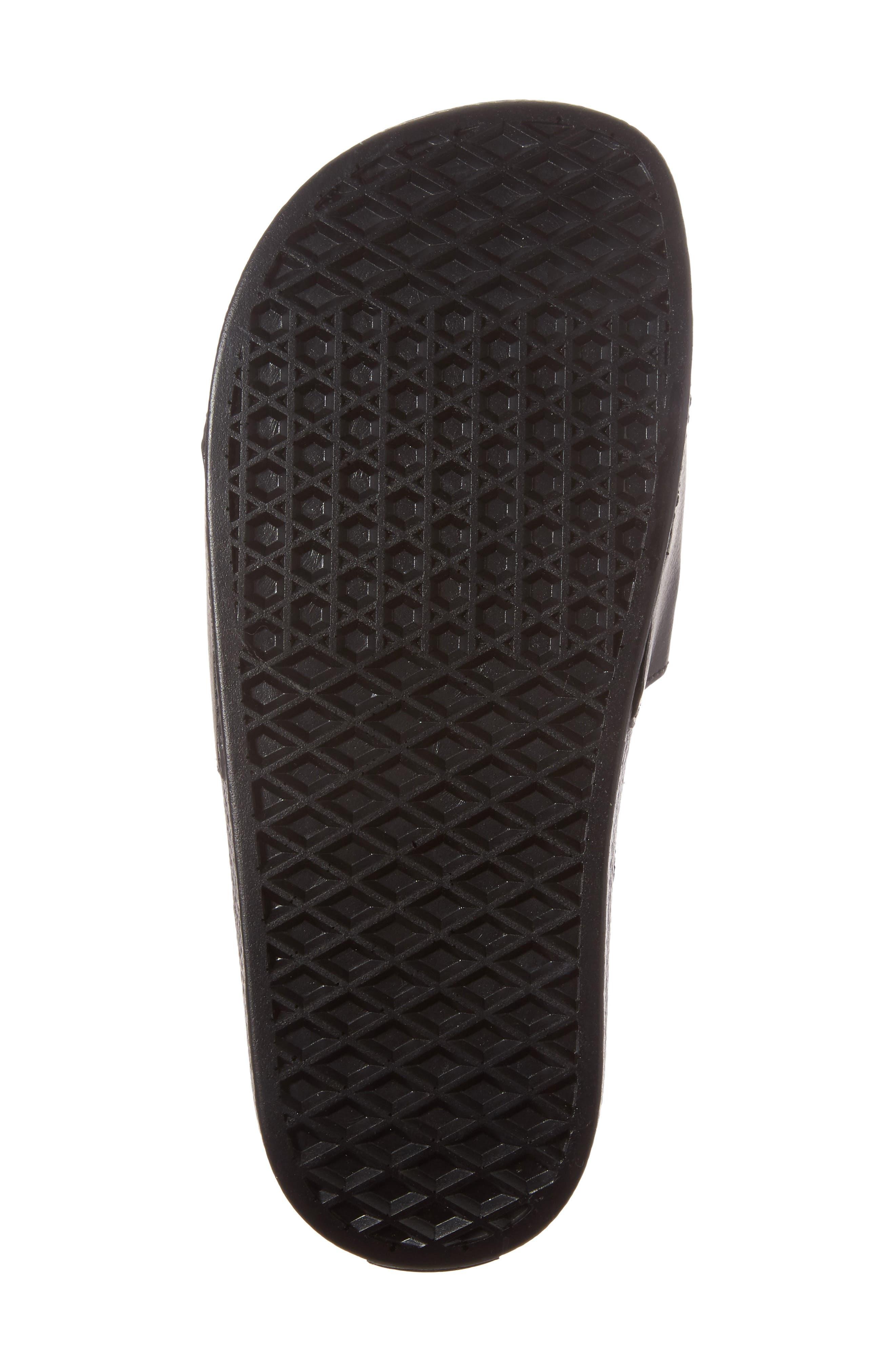 Slide-On Sandal,                             Alternate thumbnail 6, color,                             BLACK