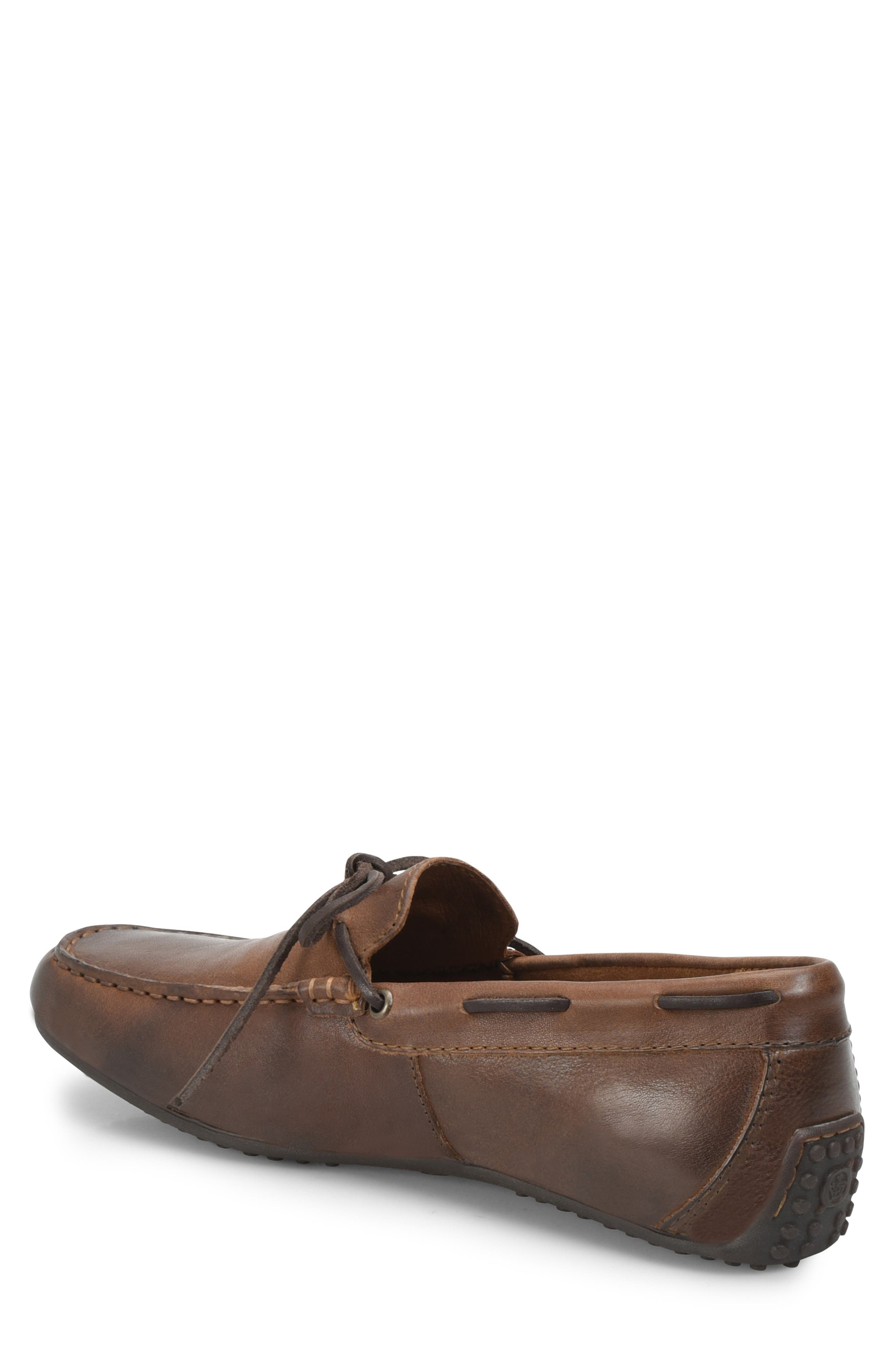 Virgo Driving Shoe,                             Alternate thumbnail 2, color,                             BROWN/BROWN LEATHER
