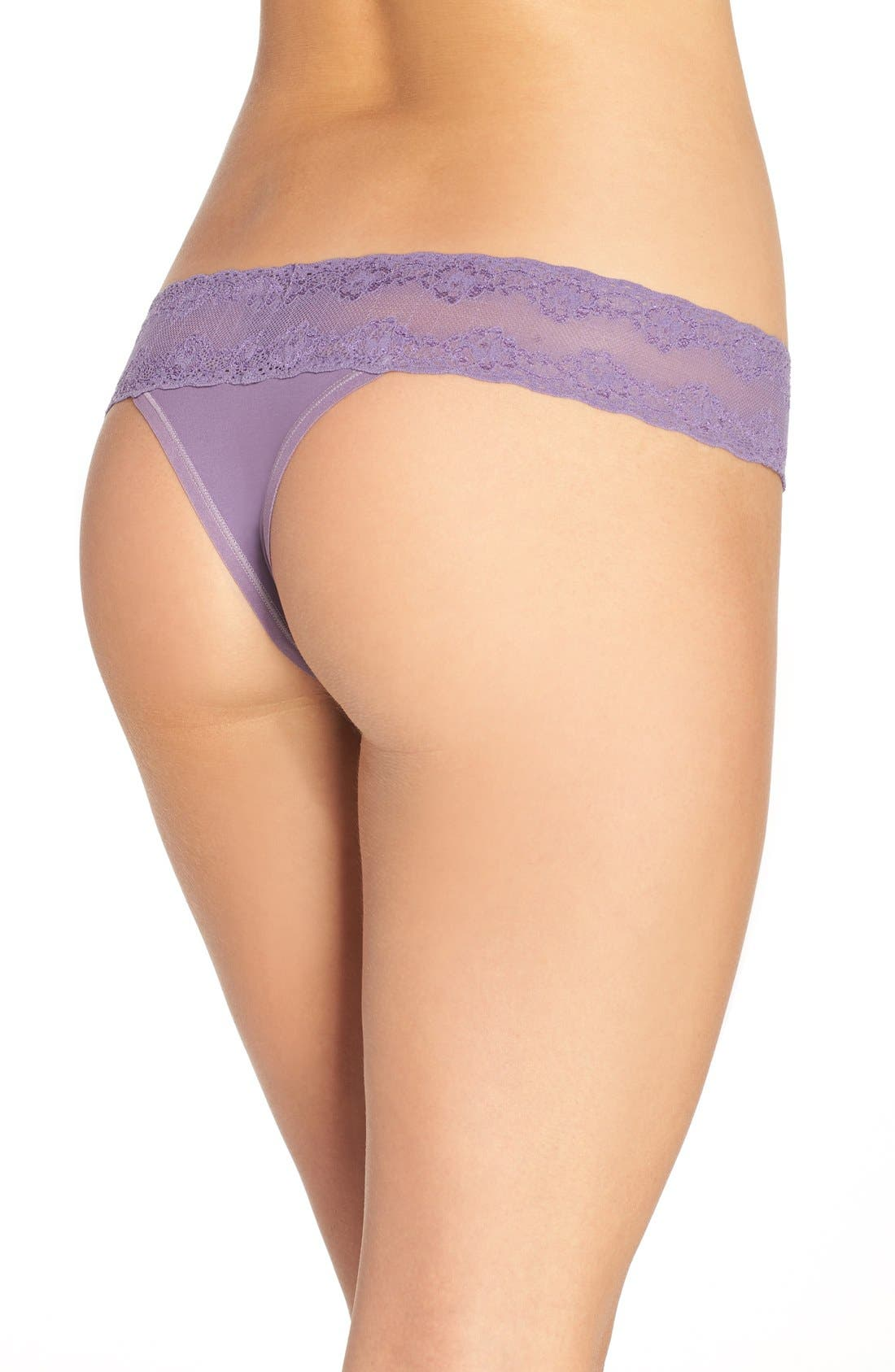 Bliss Perfection Thong,                             Alternate thumbnail 276, color,