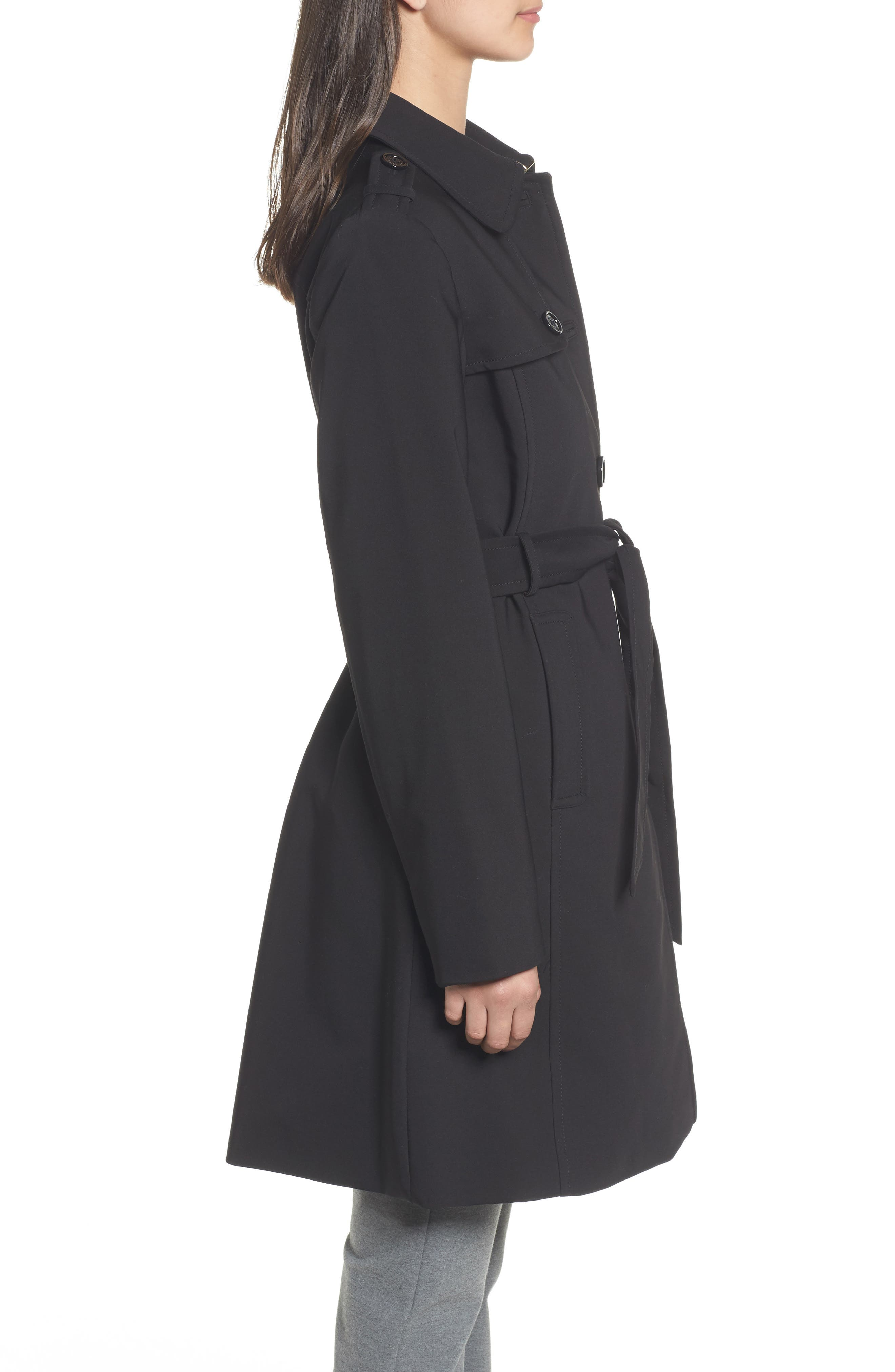 3-in-1 trench coat,                             Alternate thumbnail 3, color,                             001