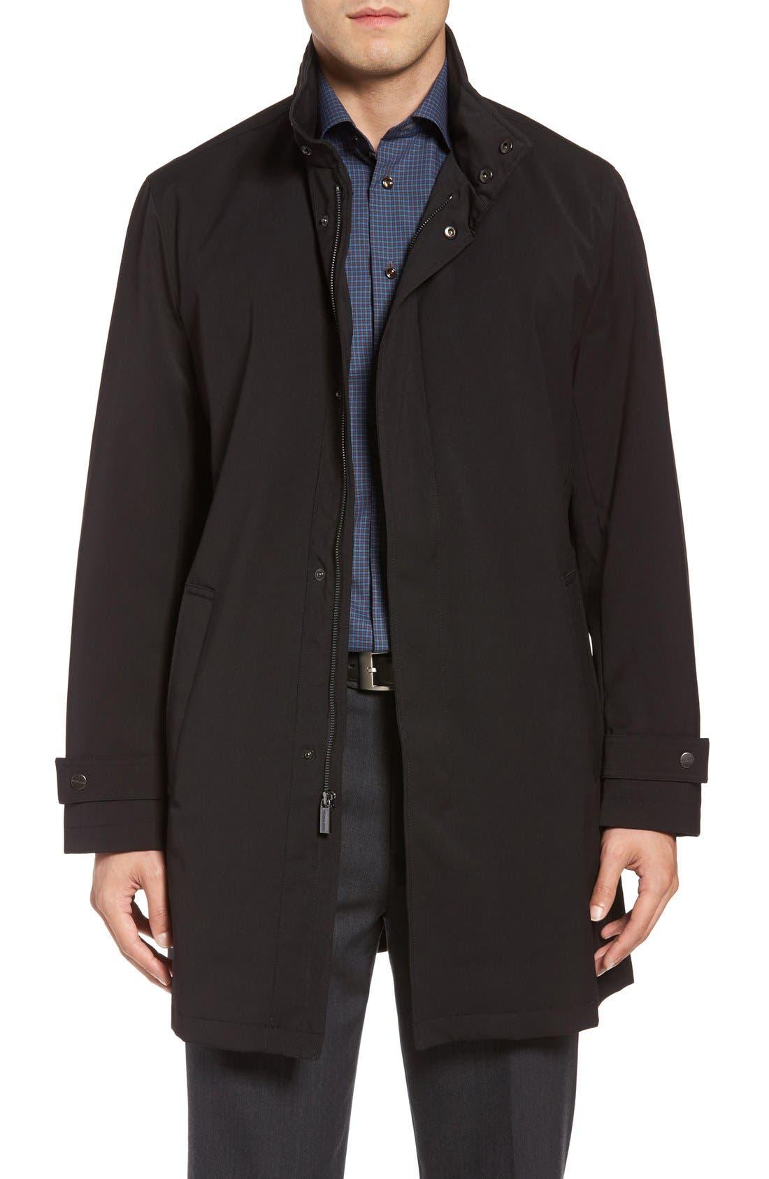 Stretch Rain Coat,                         Main,                         color, 001