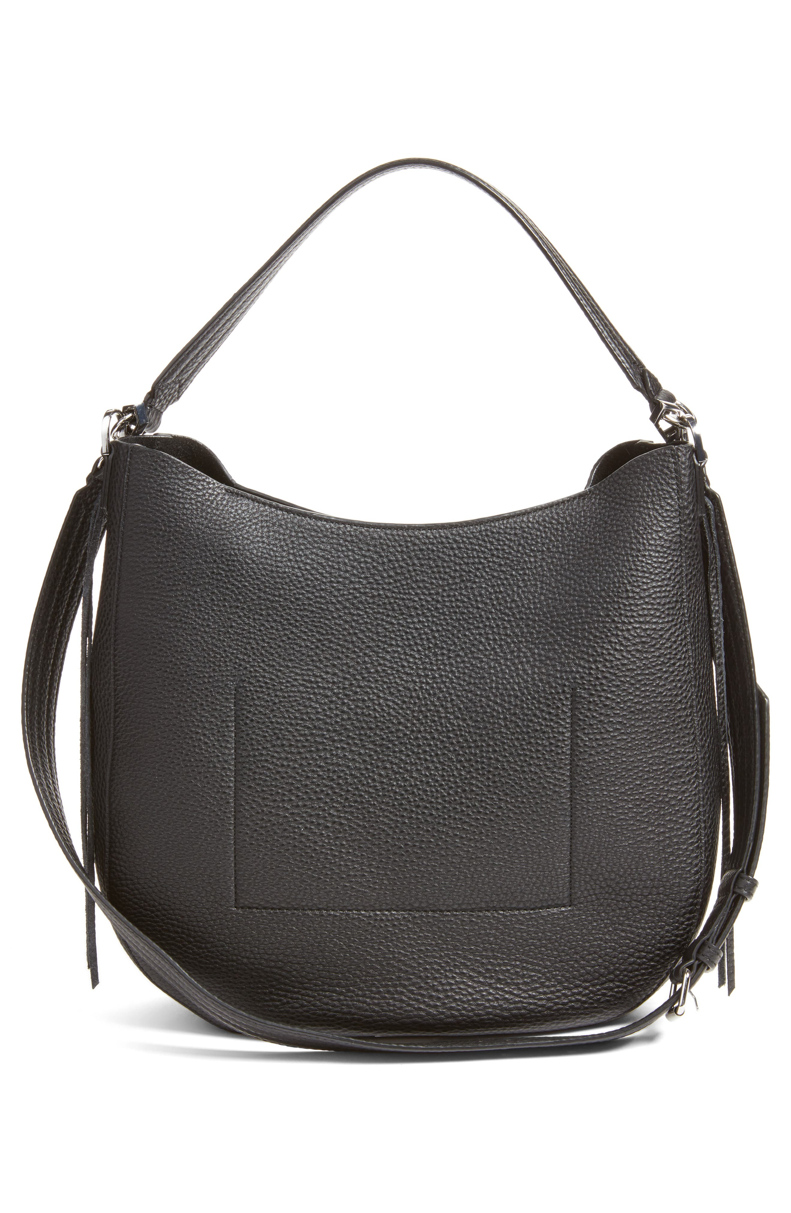 Unlined Convertible Whipstitch Hobo,                             Alternate thumbnail 15, color,