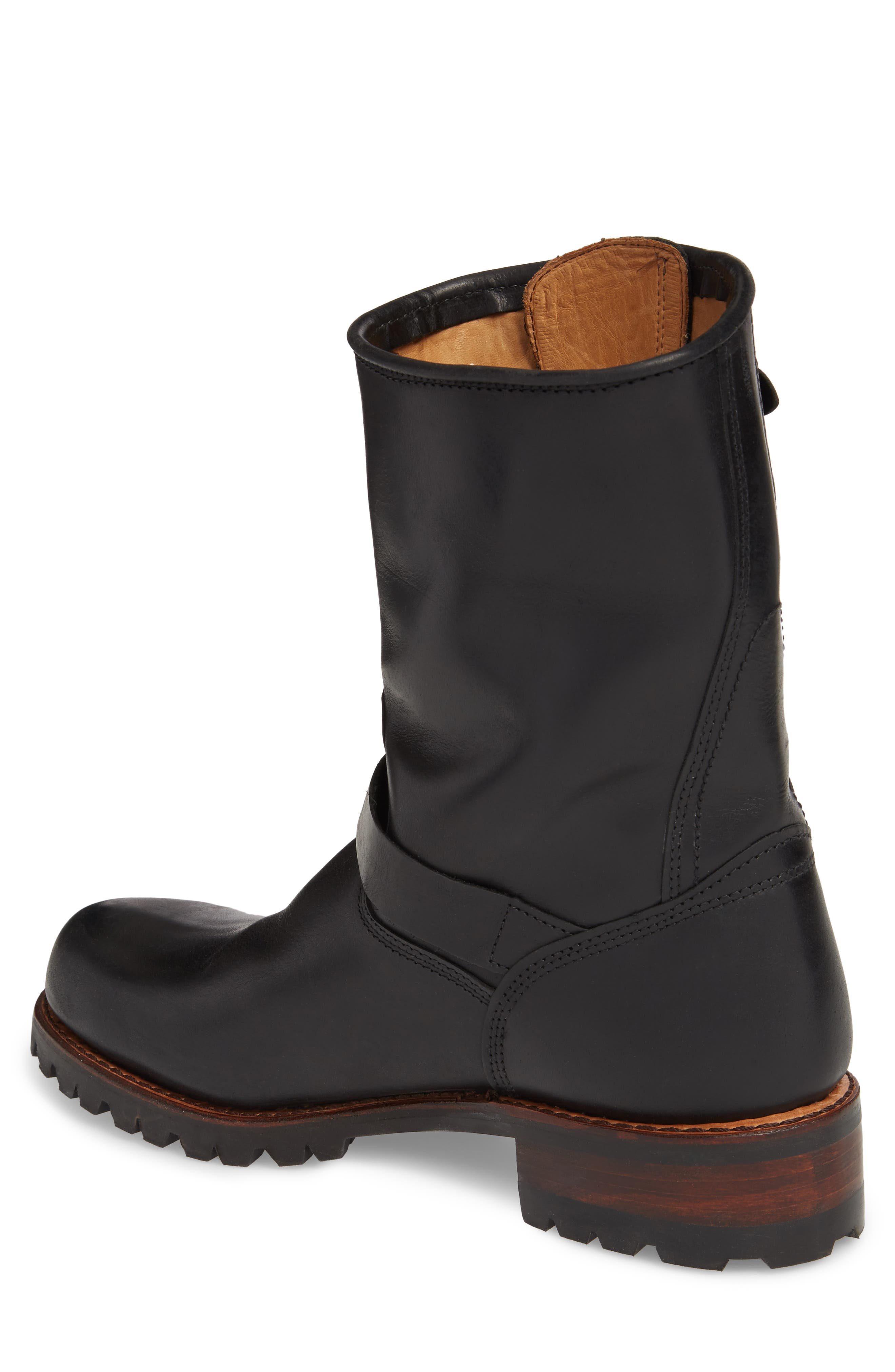 Addison Waterproof Engineer Boot,                             Alternate thumbnail 2, color,                             001