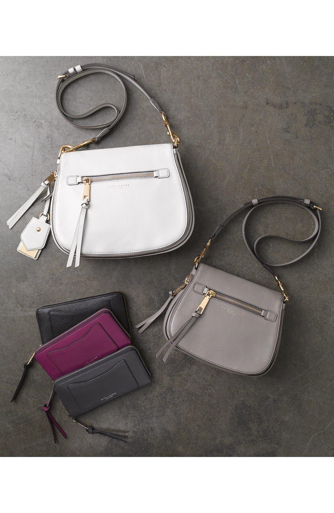 'Recruit Vertical' Leather Wallet,                             Alternate thumbnail 7, color,                             500