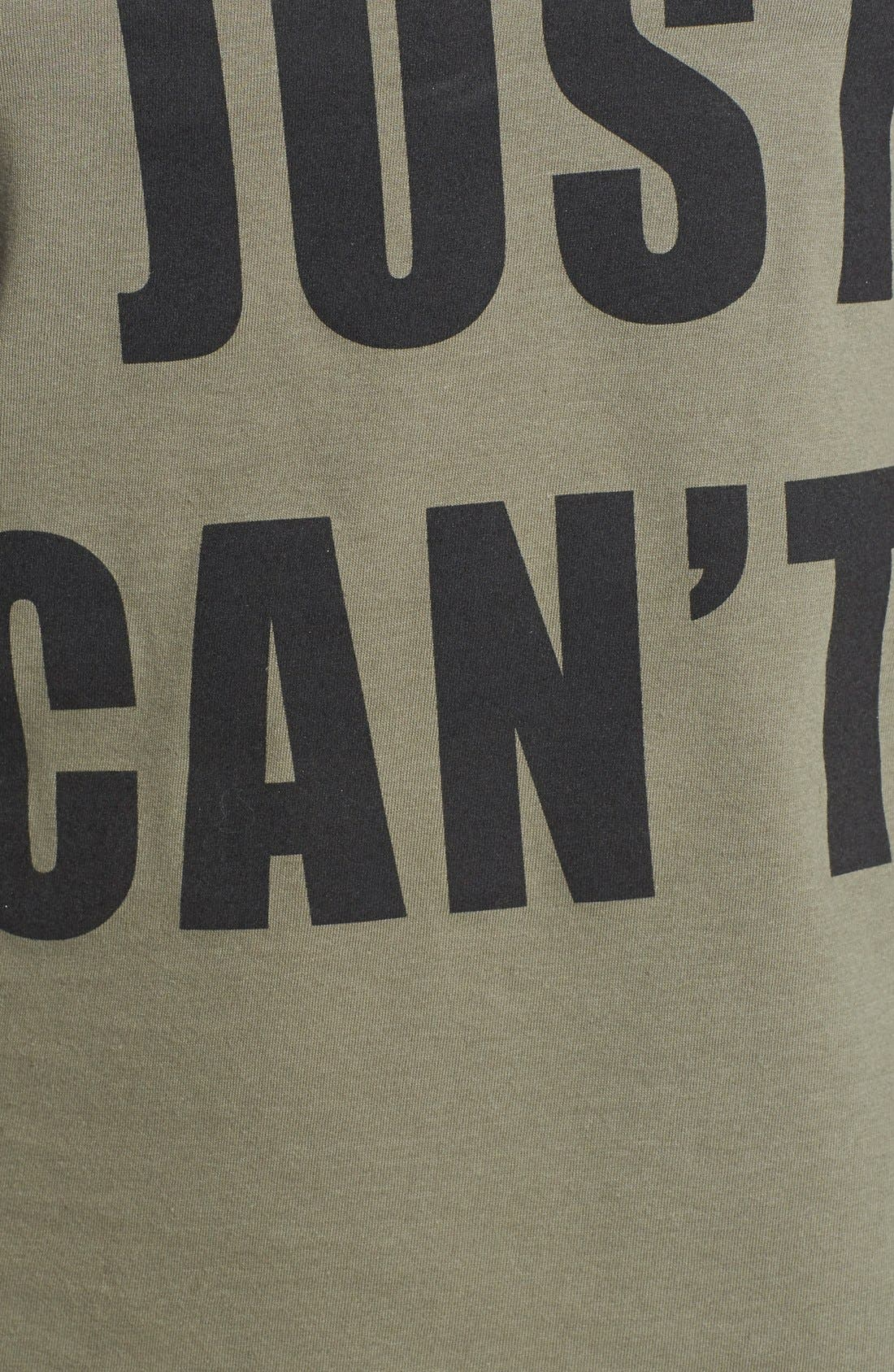 'I Just Can't' Tee,                             Alternate thumbnail 2, color,                             300
