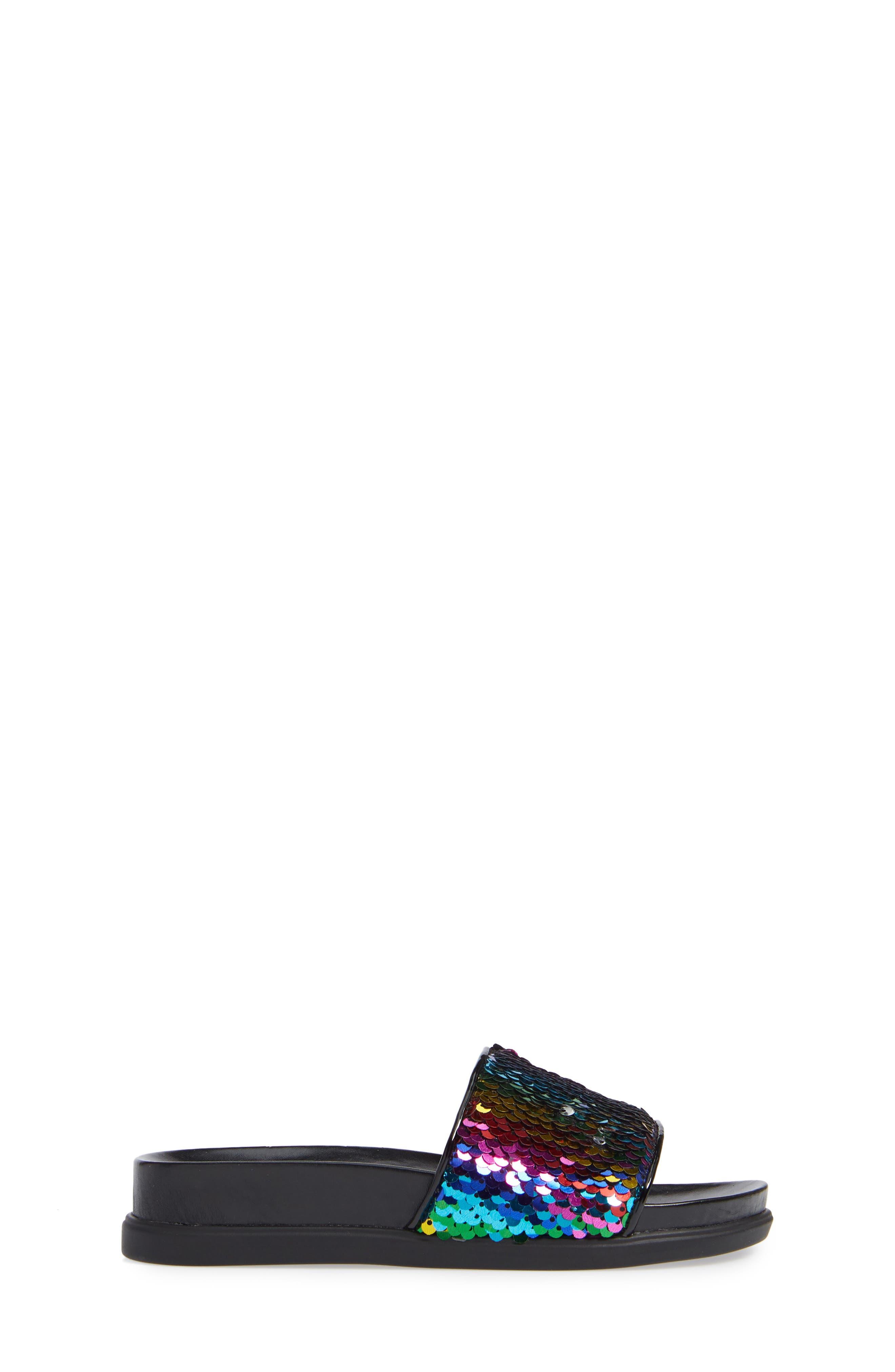 JFLIPS Slide Sandal,                             Alternate thumbnail 3, color,                             BLACK MULTI