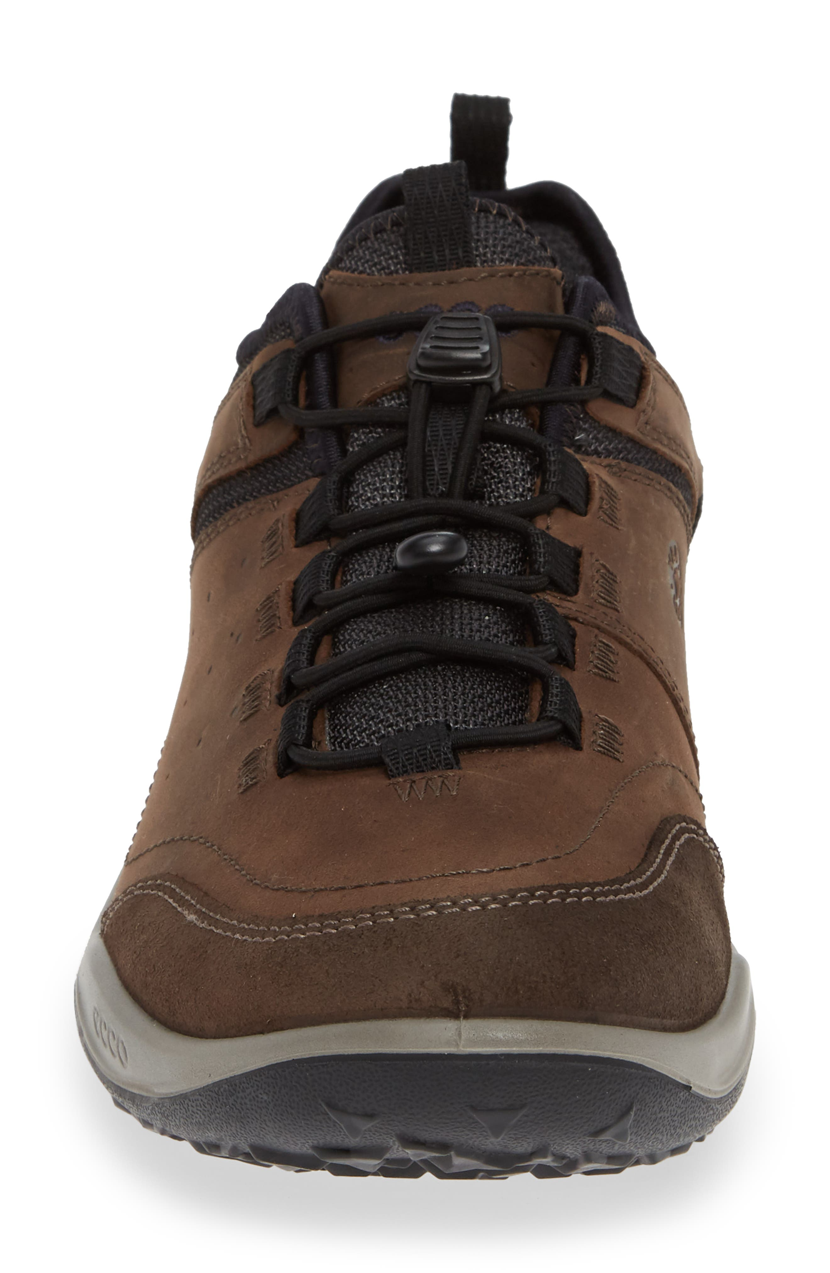 'Espinho GTX' Sneaker,                             Alternate thumbnail 4, color,                             ESPRESSO NUBUCK