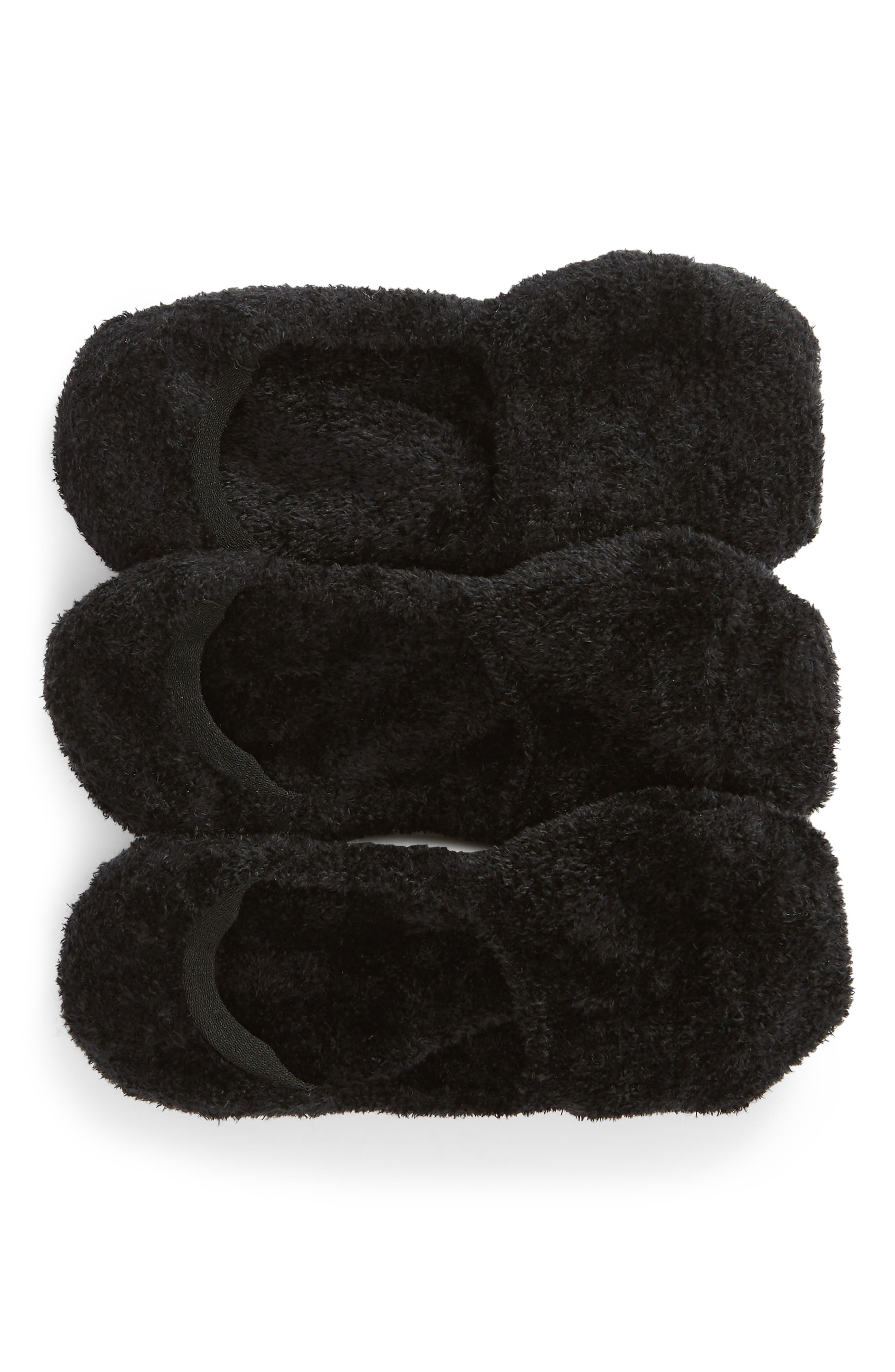 3-Pack Feathery Liner Socks, Main, color, 001