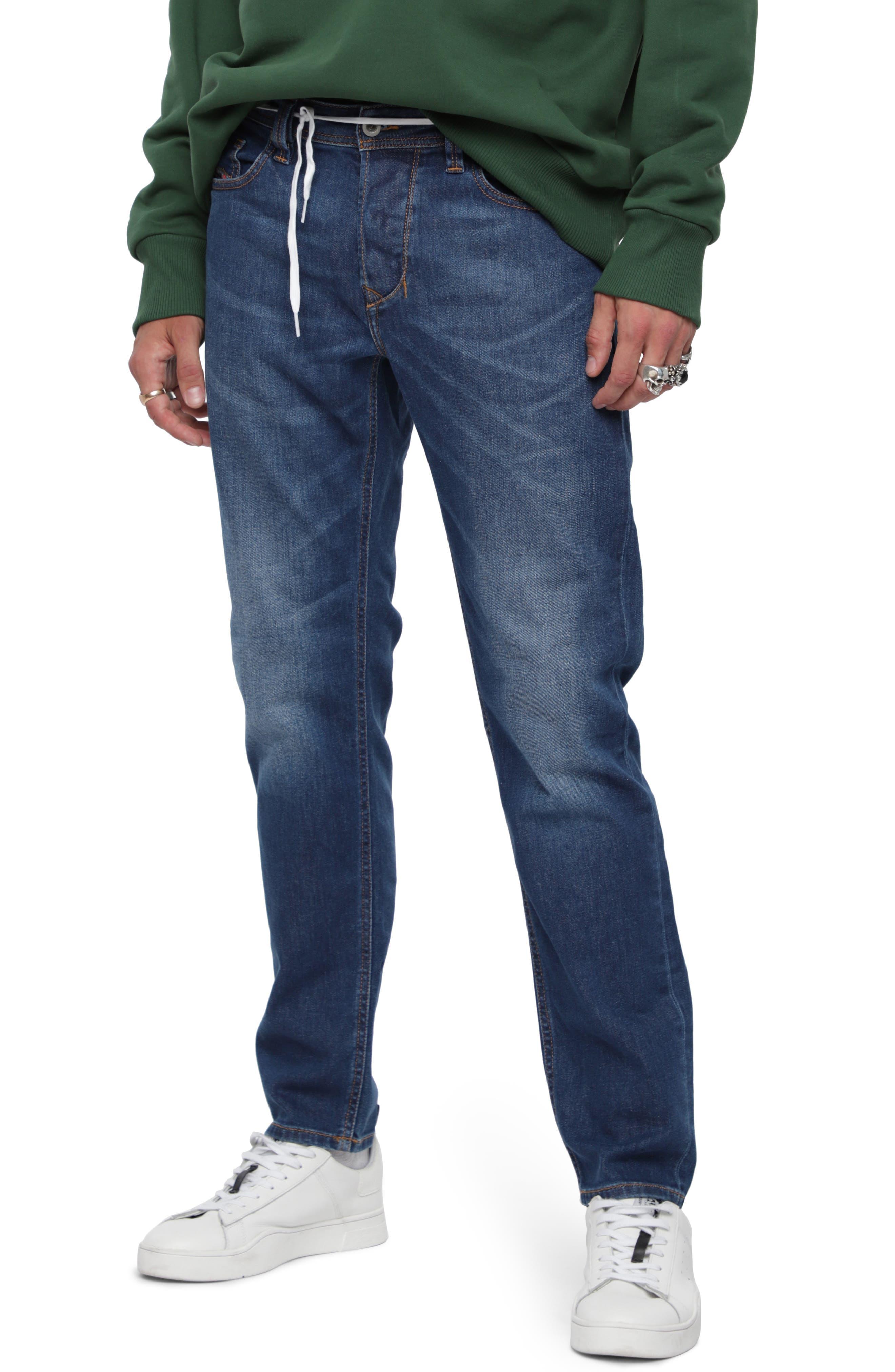 Men's Diesel Larkee Relaxed Fit Jeans, Size 40 - Blue