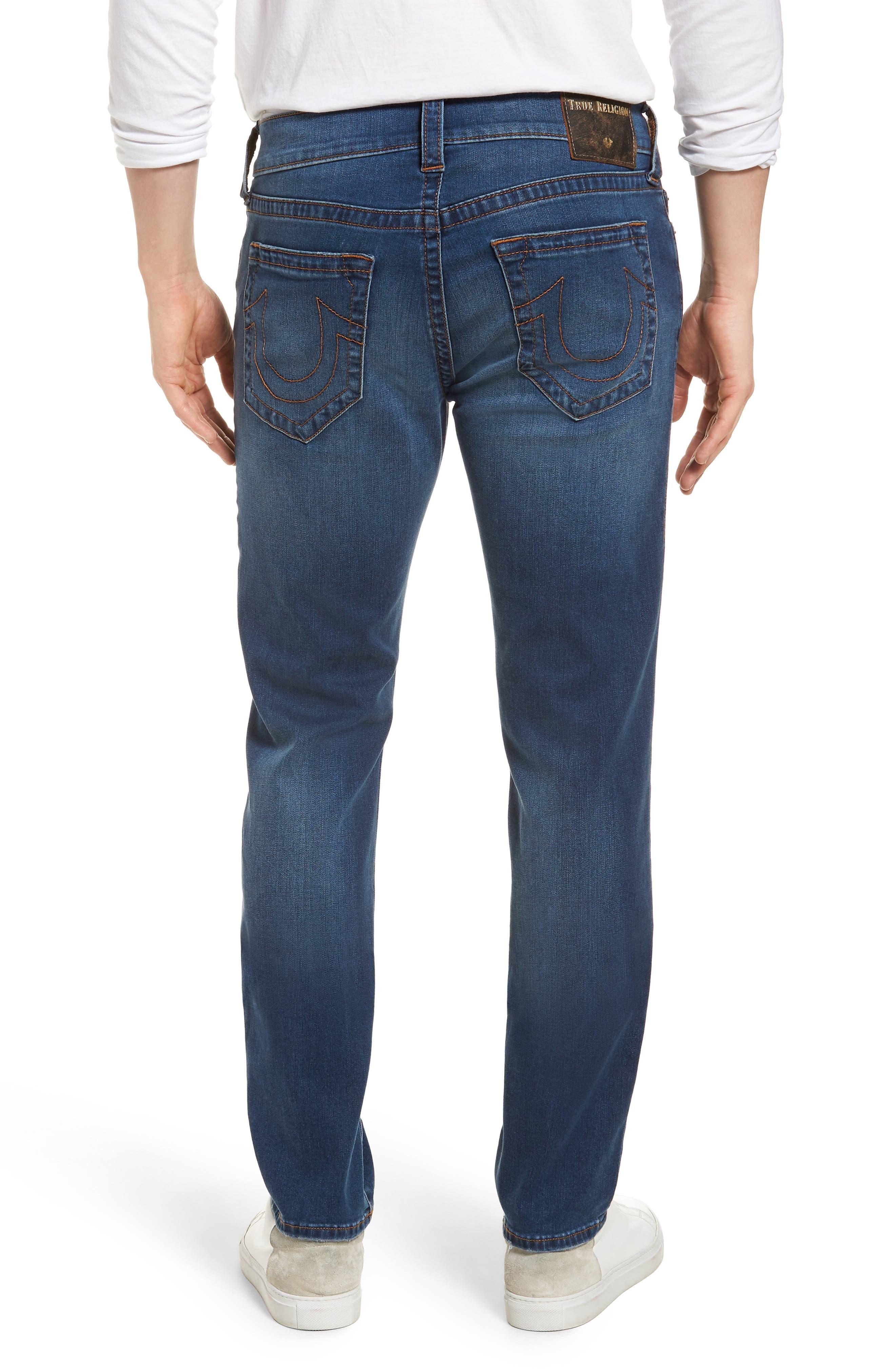 Geno Straight Leg Jeans,                             Alternate thumbnail 2, color,                             INDIGO LAKE