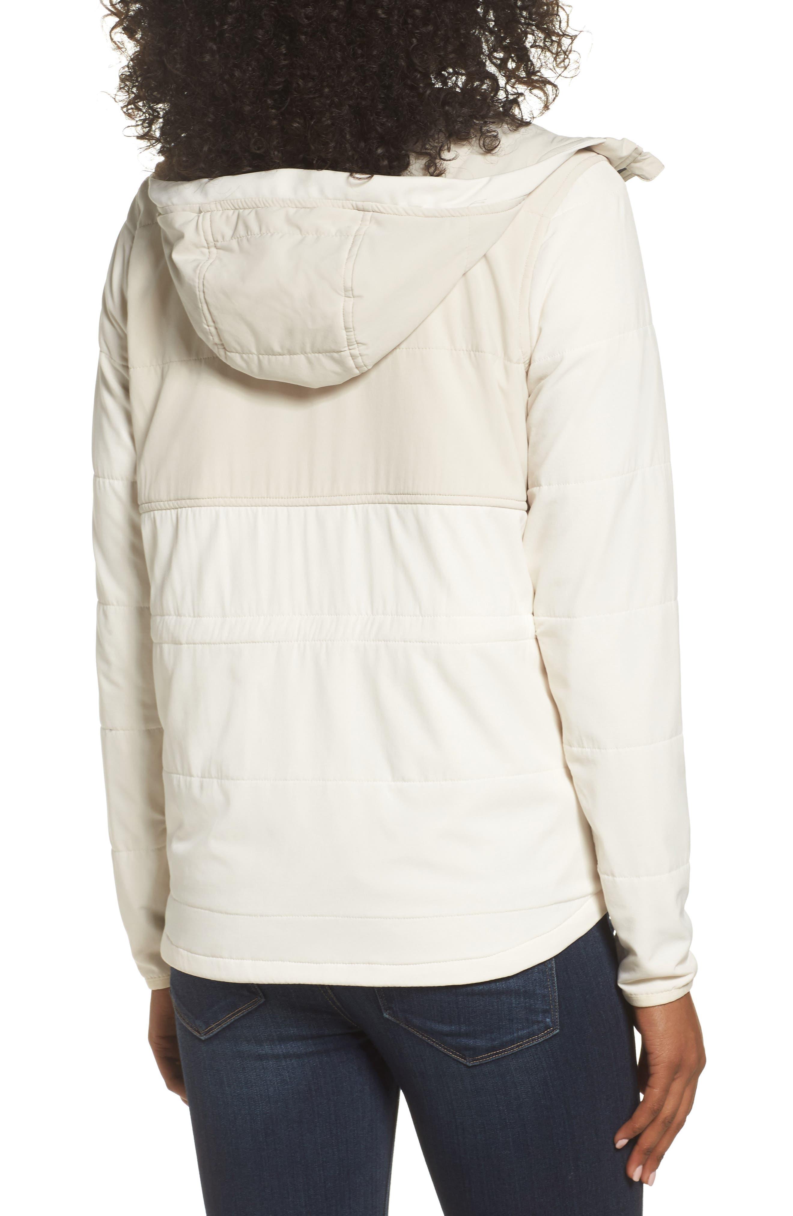Mountain Sweatshirt Insulated Hooded Jacket,                             Alternate thumbnail 2, color,                             100
