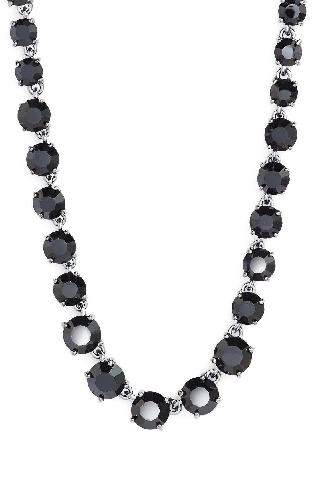 Jeweled Long Necklace,                             Alternate thumbnail 2, color,                             001