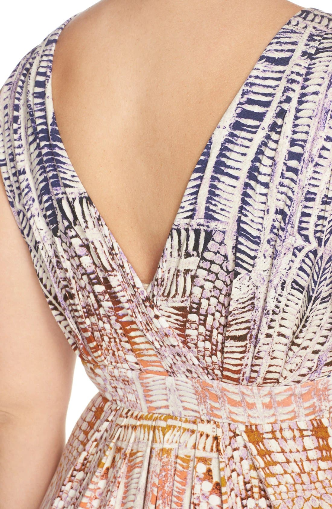 Chloe Empire Waist Maxi Dress,                             Alternate thumbnail 70, color,