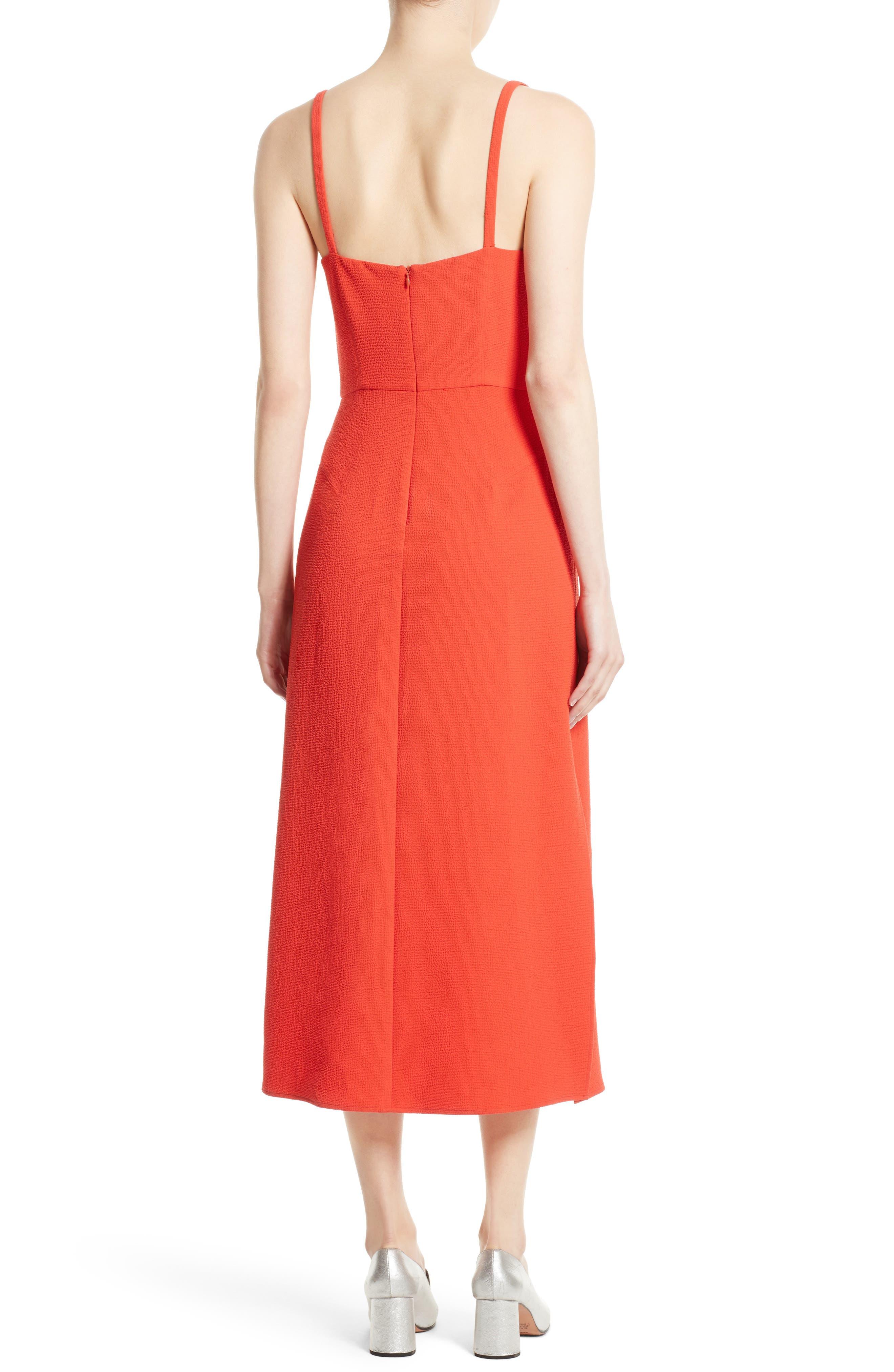 Agitator Midi Dress,                             Alternate thumbnail 2, color,                             950