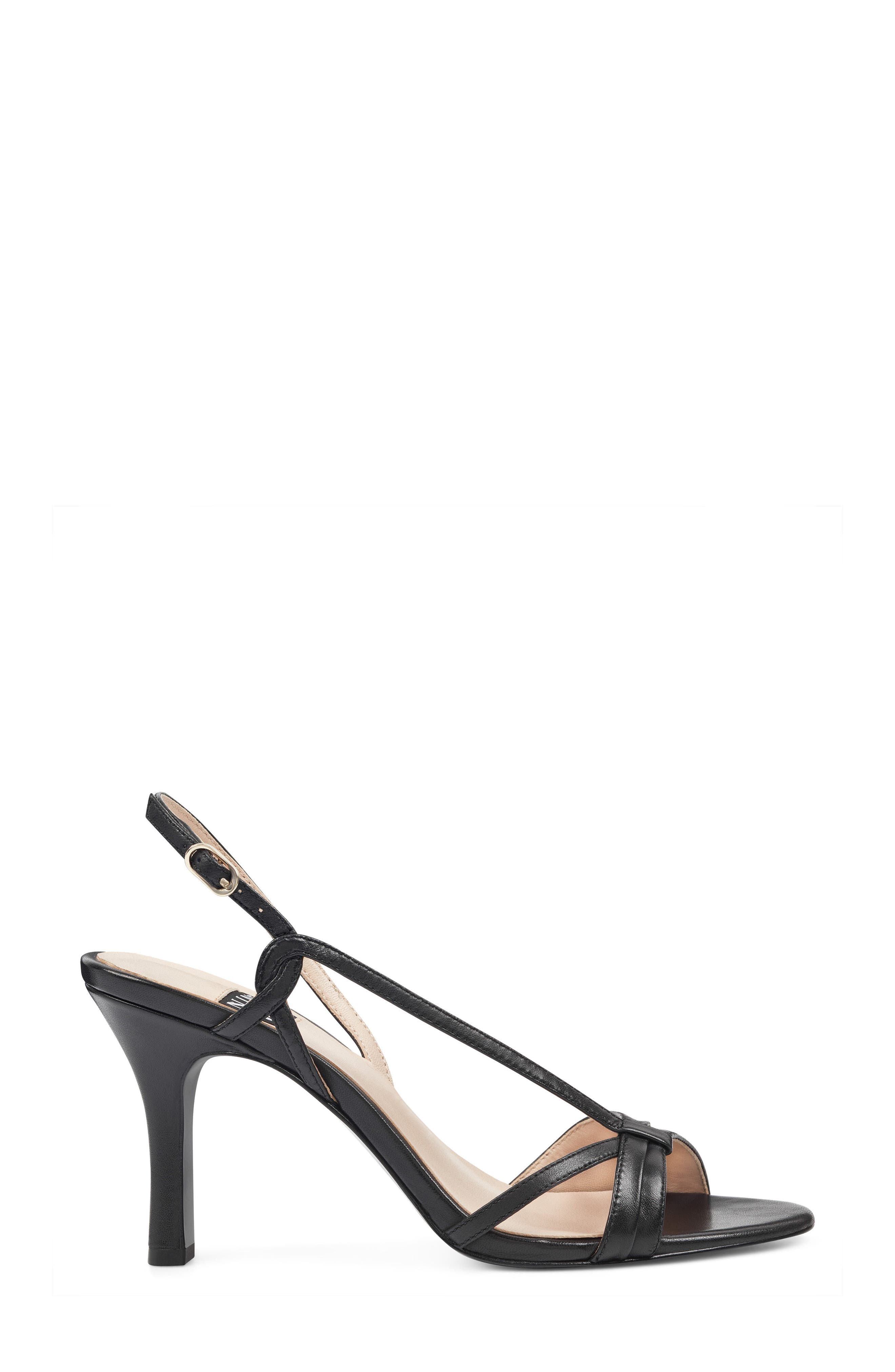 Accolia - 40th Anniversary Capsule Collection Sandal,                             Alternate thumbnail 3, color,                             BLACK LEATHER