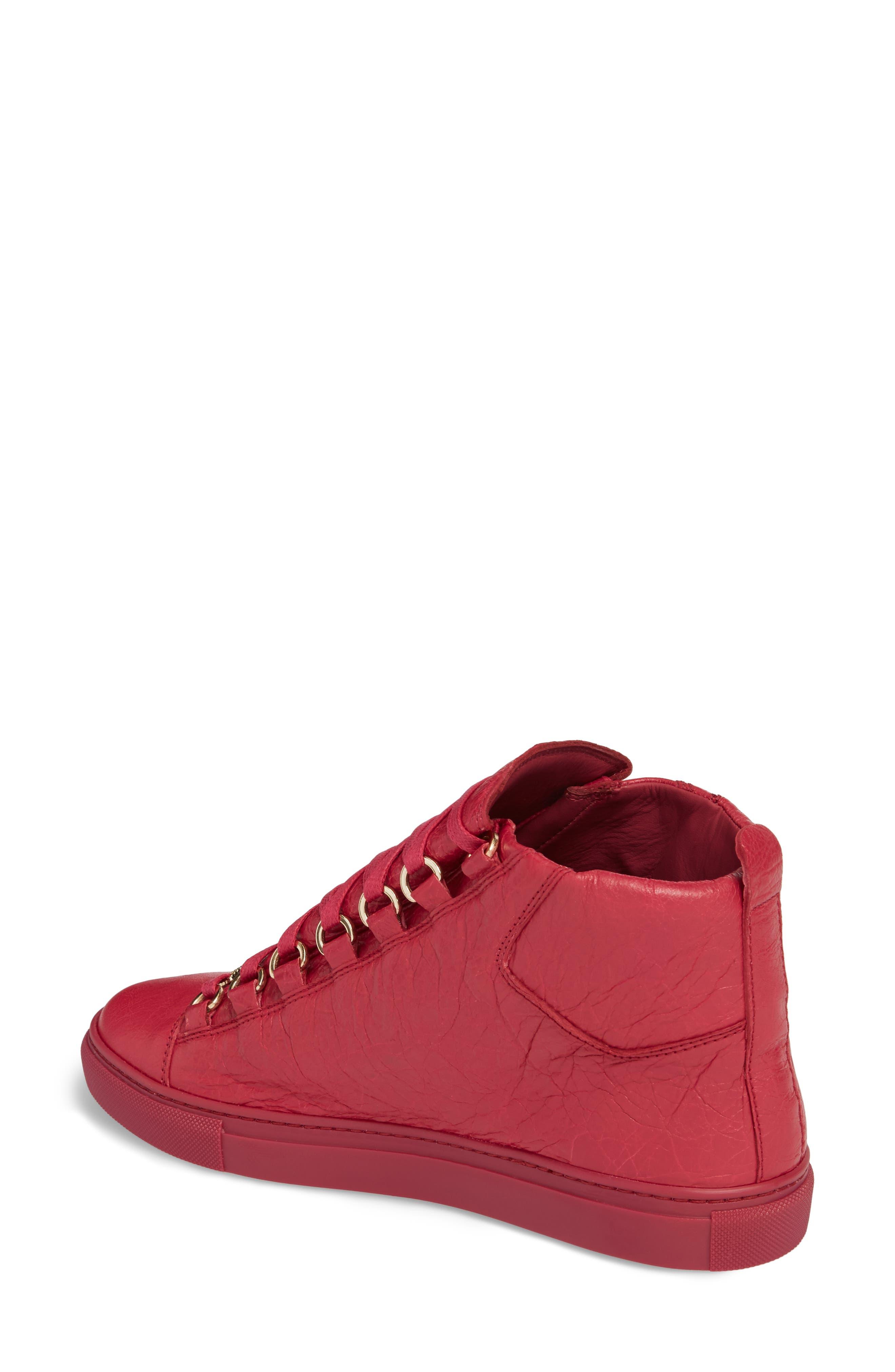BALENCIAGA,                             High Top Sneaker,                             Alternate thumbnail 2, color,                             600