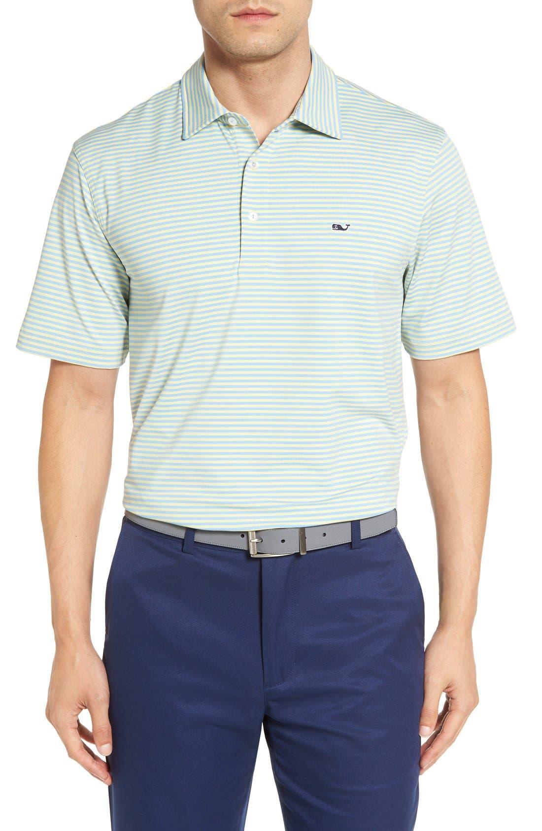 Kennedy Stripe Golf Polo,                             Main thumbnail 18, color,