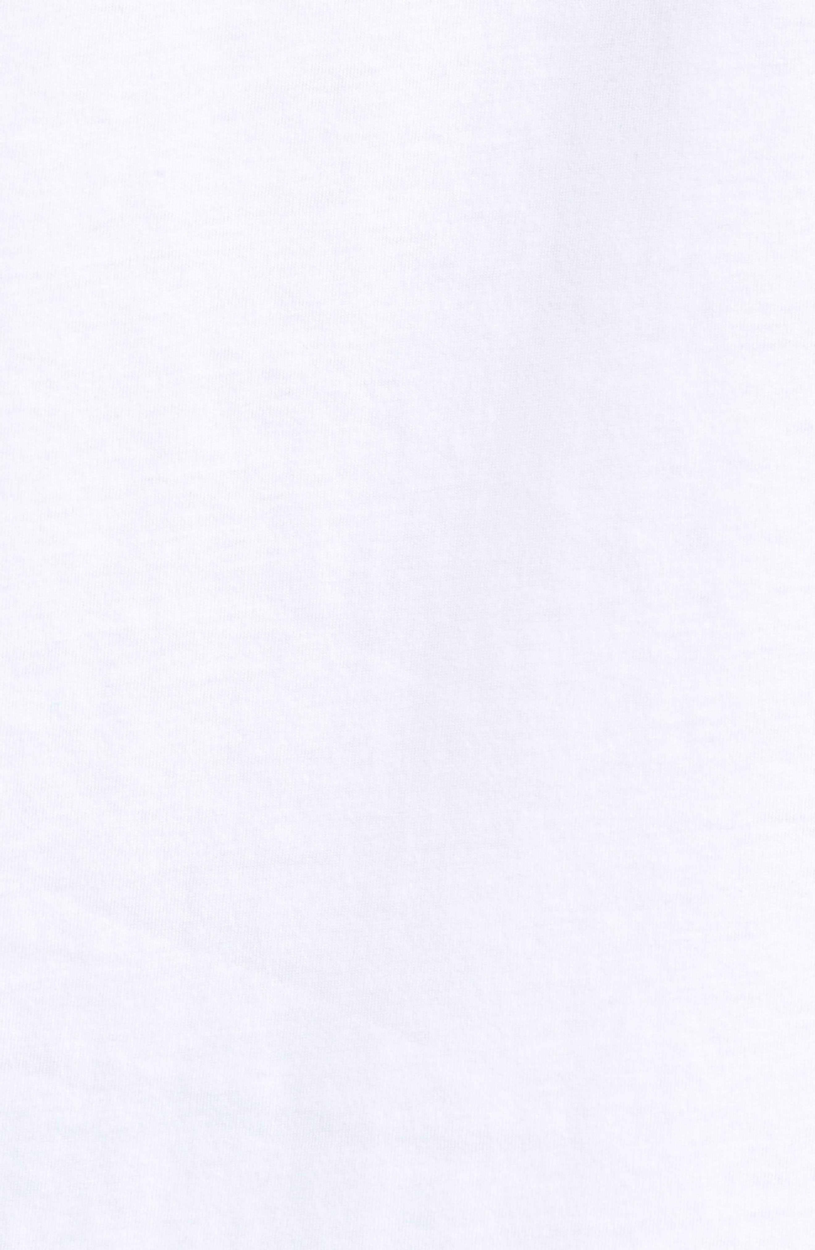 Monstera Block T-Shirt,                             Alternate thumbnail 5, color,                             110