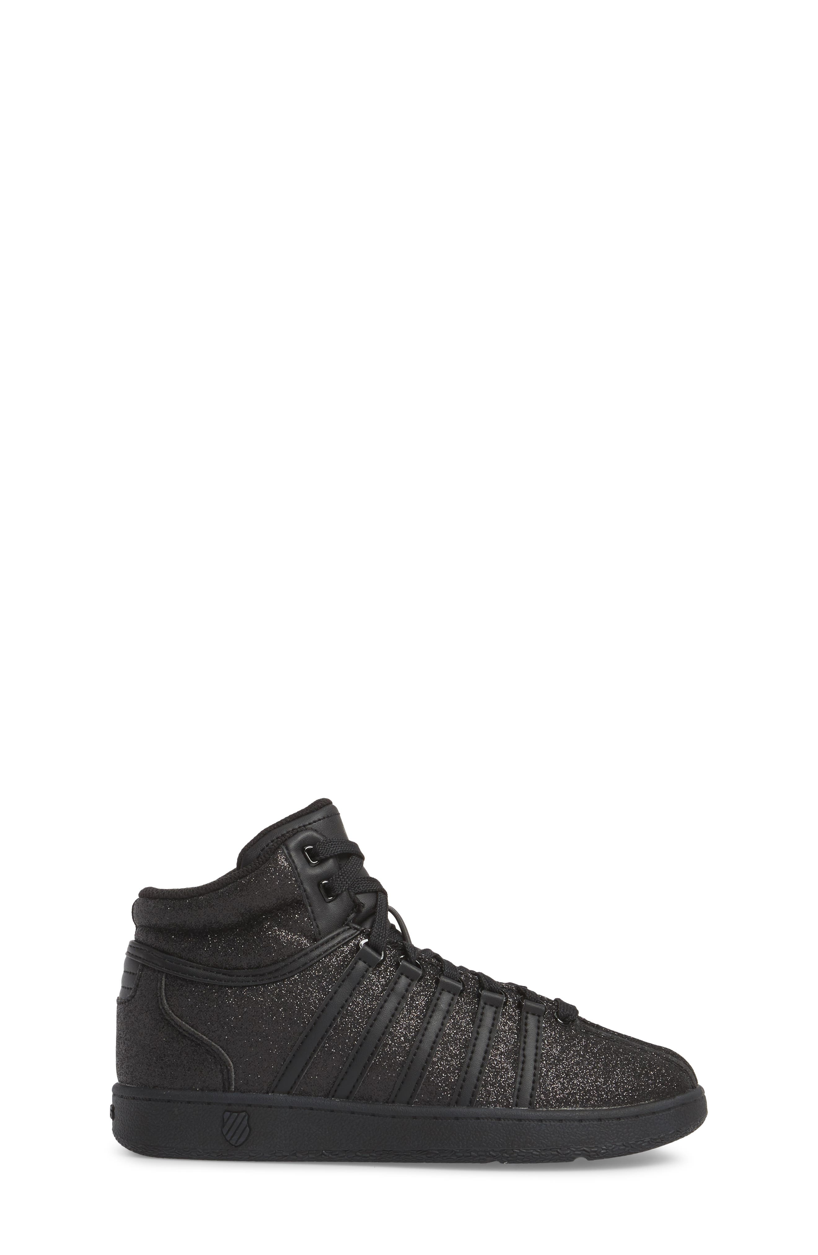 Classic VN Sparkle Mid Sneaker,                             Alternate thumbnail 3, color,                             014