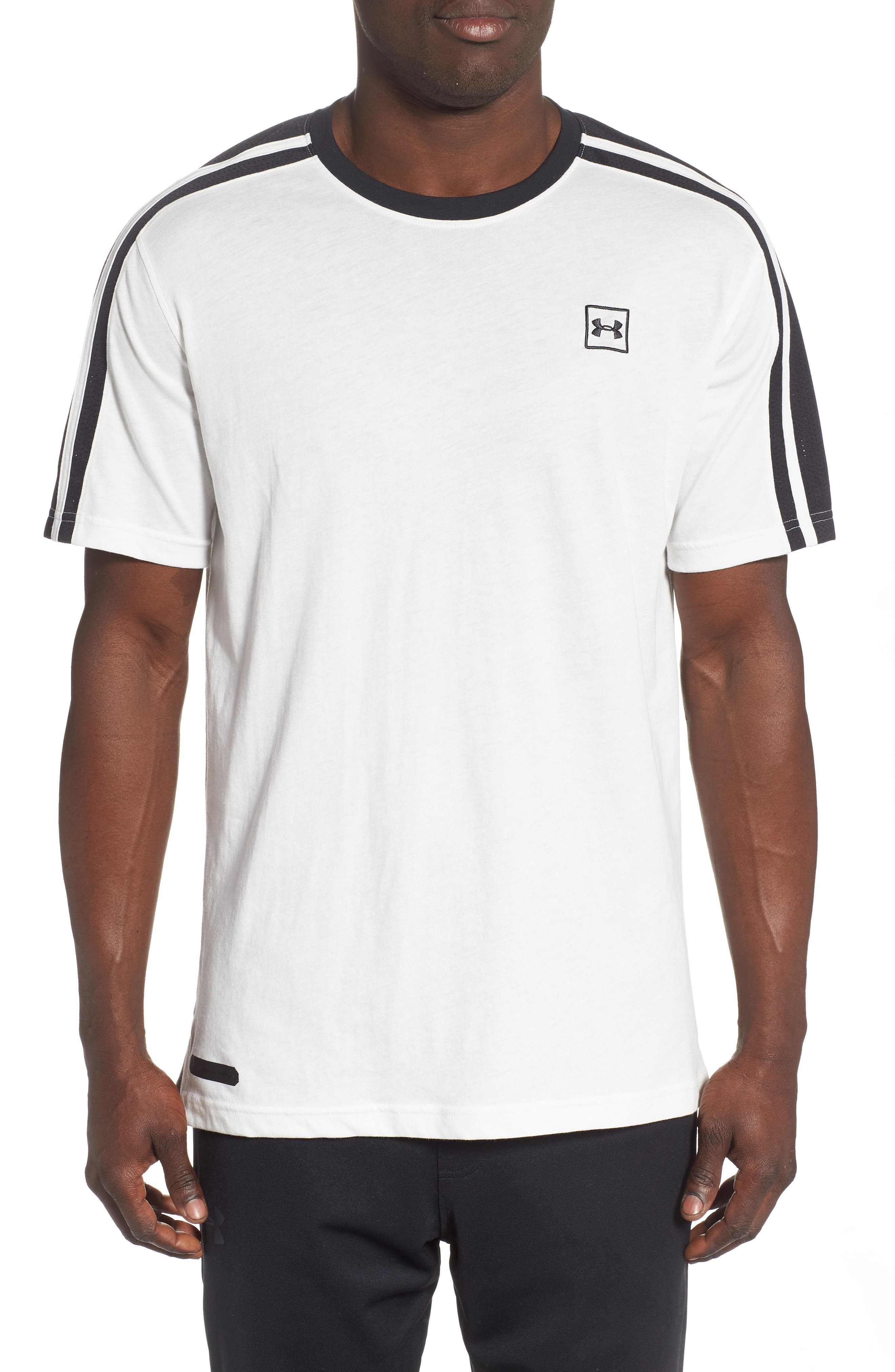 Under Armour Unstoppable Stripe T-Shirt, White