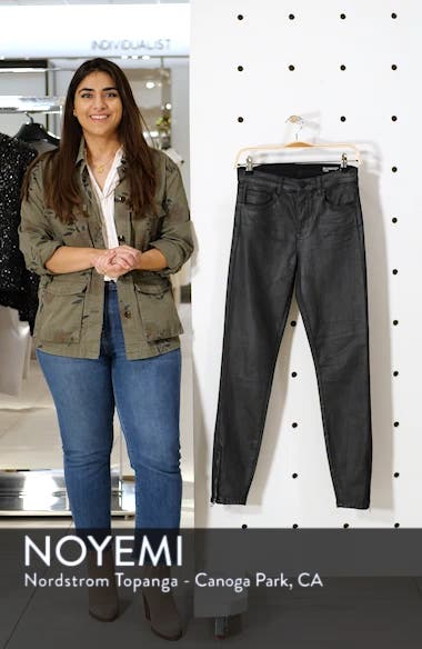 The Bond Coated Skinny Jeans, sales video thumbnail