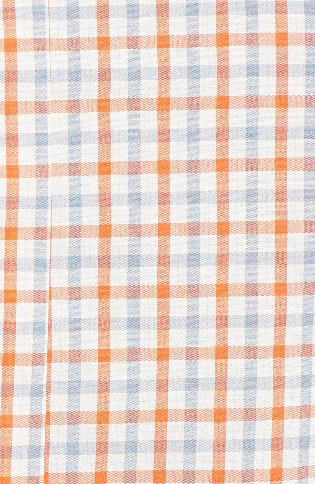 Check Woven Shirt,                             Alternate thumbnail 4, color,                             110