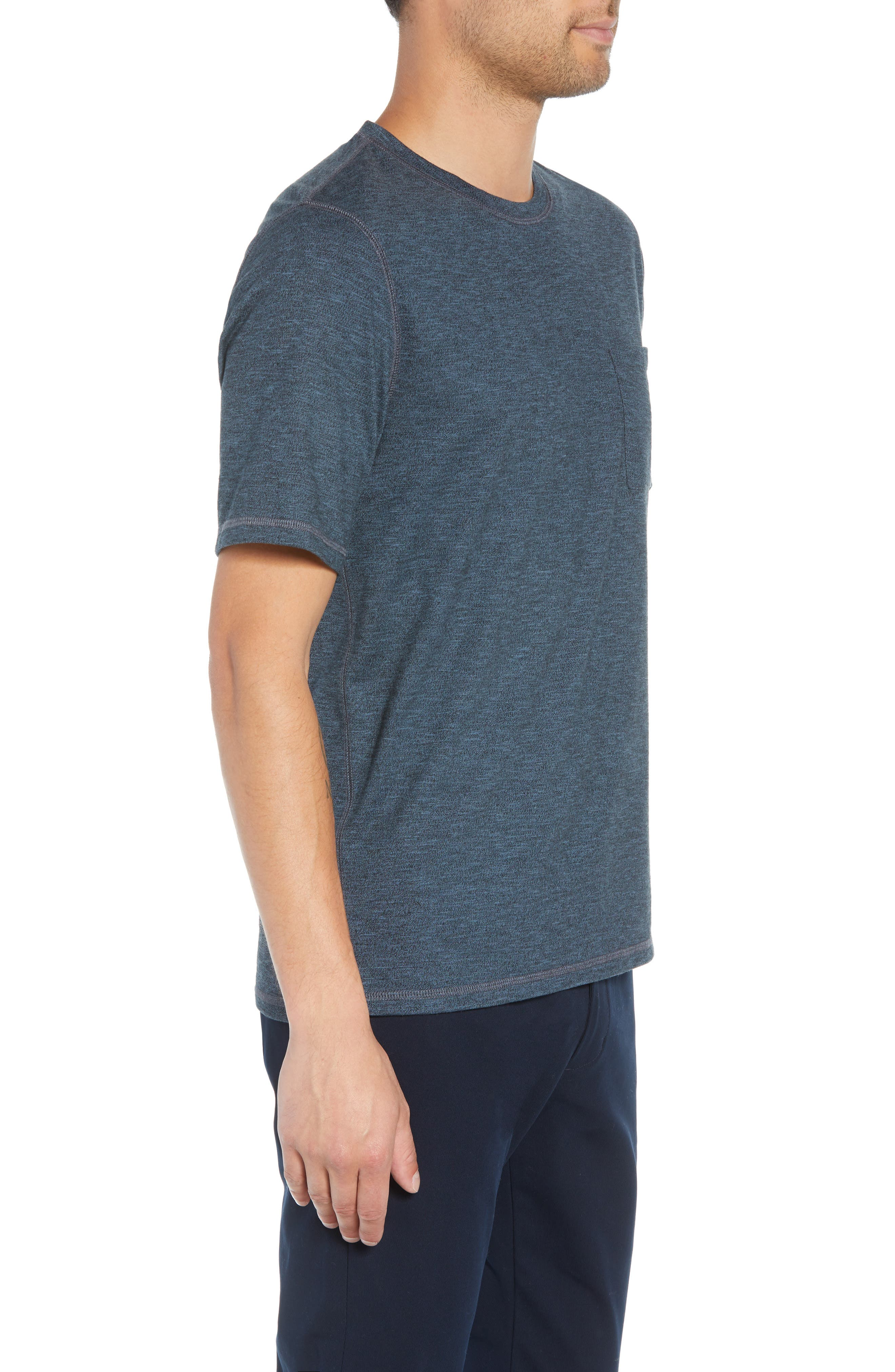 Classic Fit Pocket T-Shirt,                             Alternate thumbnail 3, color,                             400