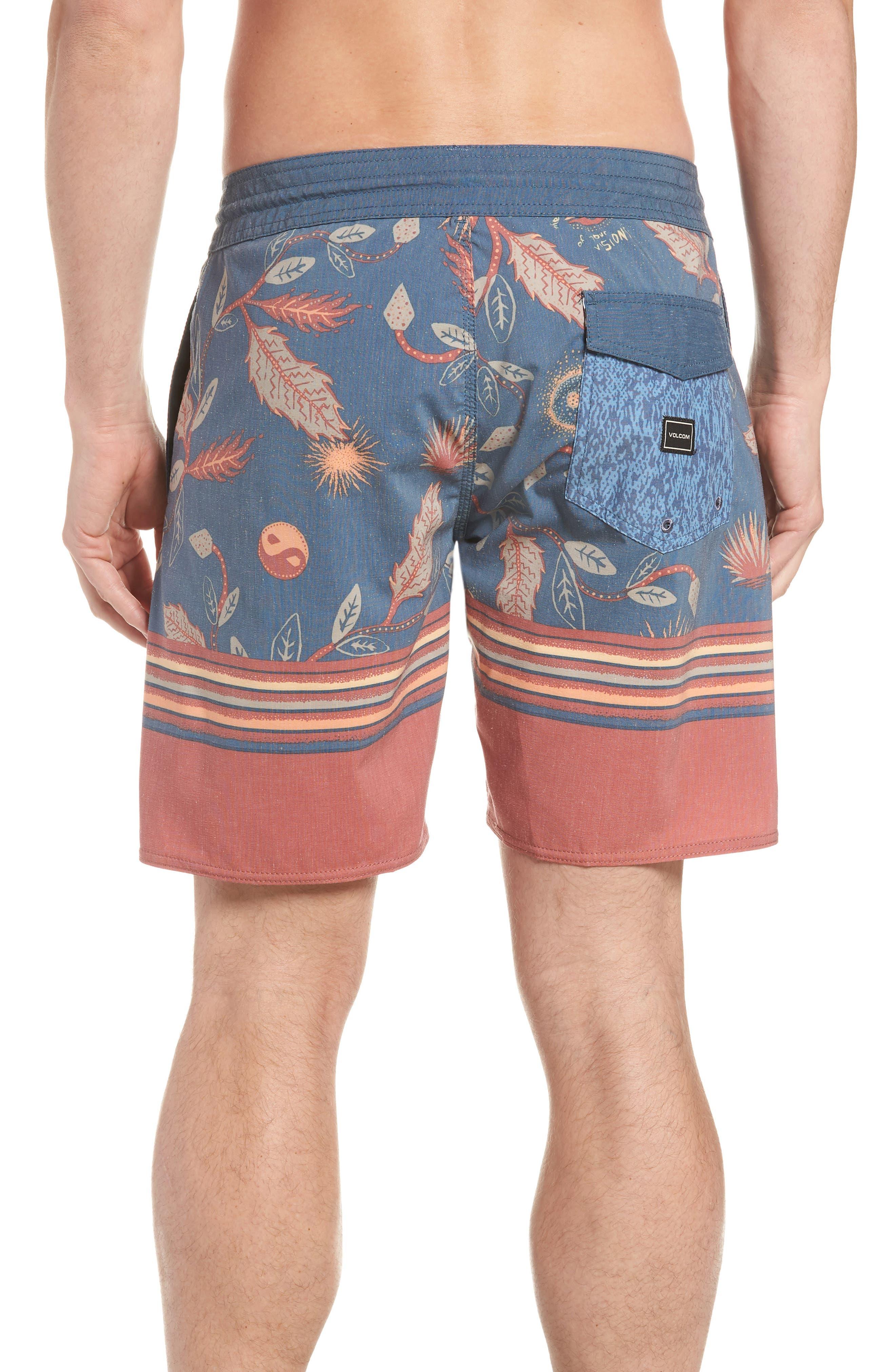 VOLCOM,                             Lucid Stoney Board Shorts,                             Alternate thumbnail 2, color,                             463