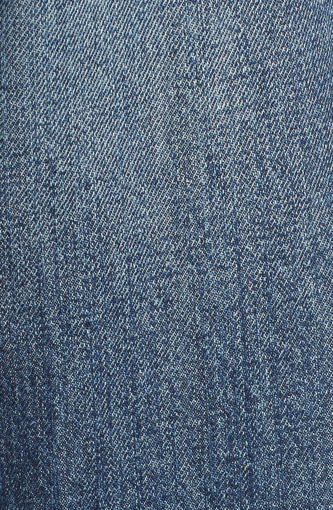 ARTICLES OF SOCIETY,                             'Janis' Destroyed Boyfriend Jeans,                             Alternate thumbnail 5, color,                             408