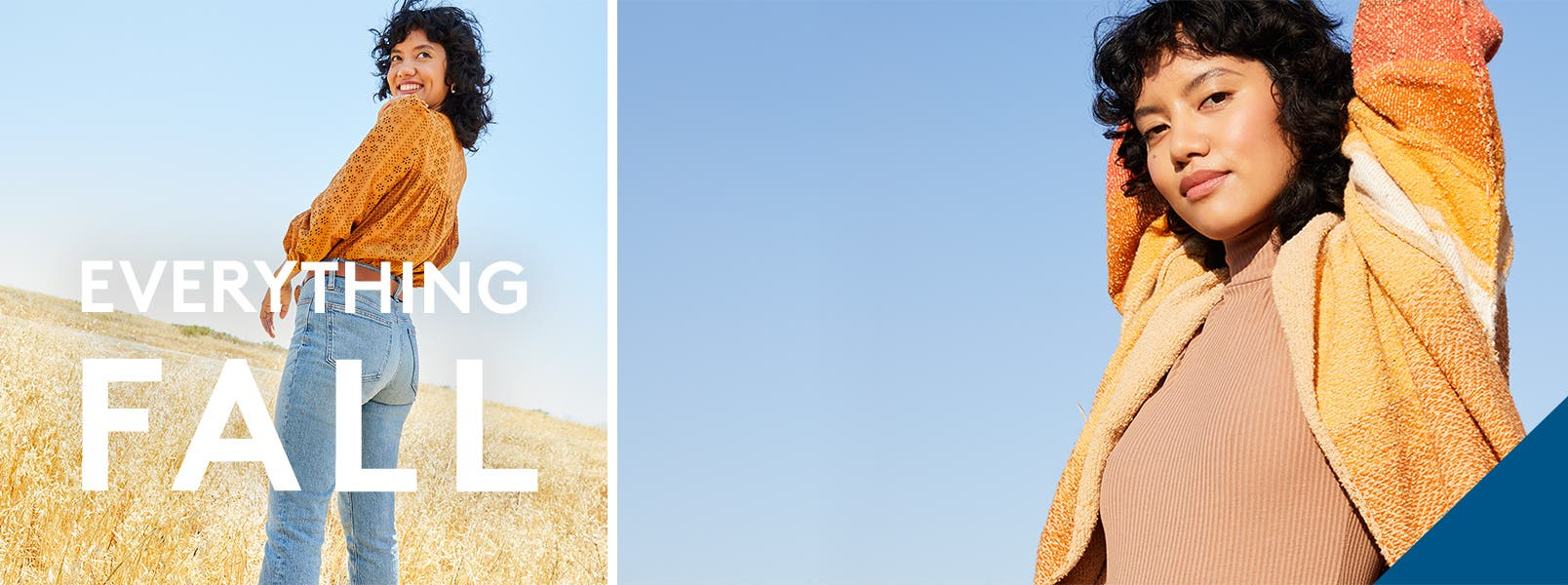 EVERYTHING FALL. All the good stuff's here—up to 50% off!