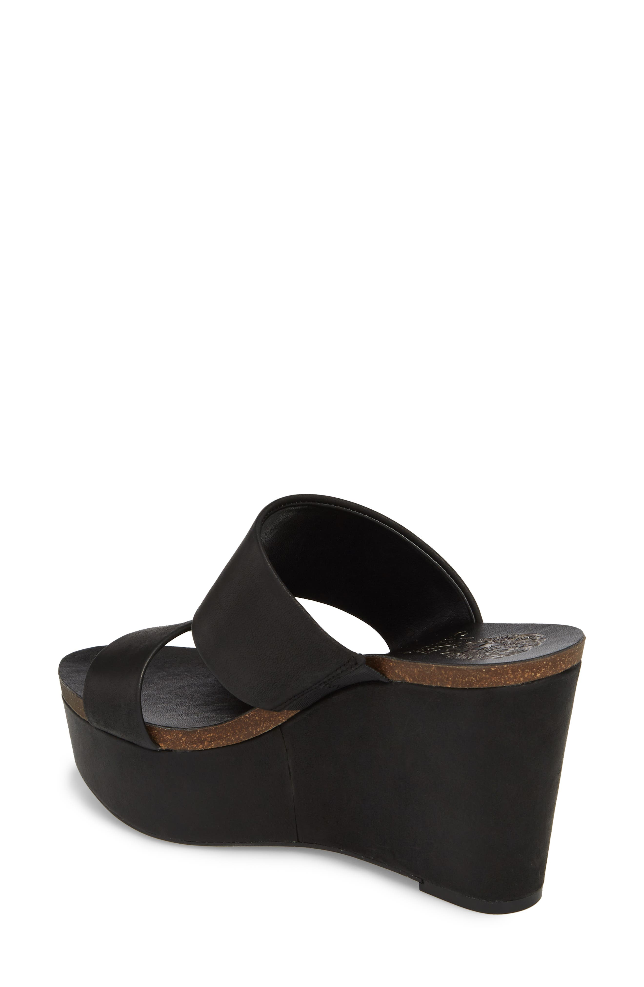 Varenia Platform Wedge Sandal,                             Alternate thumbnail 2, color,                             001