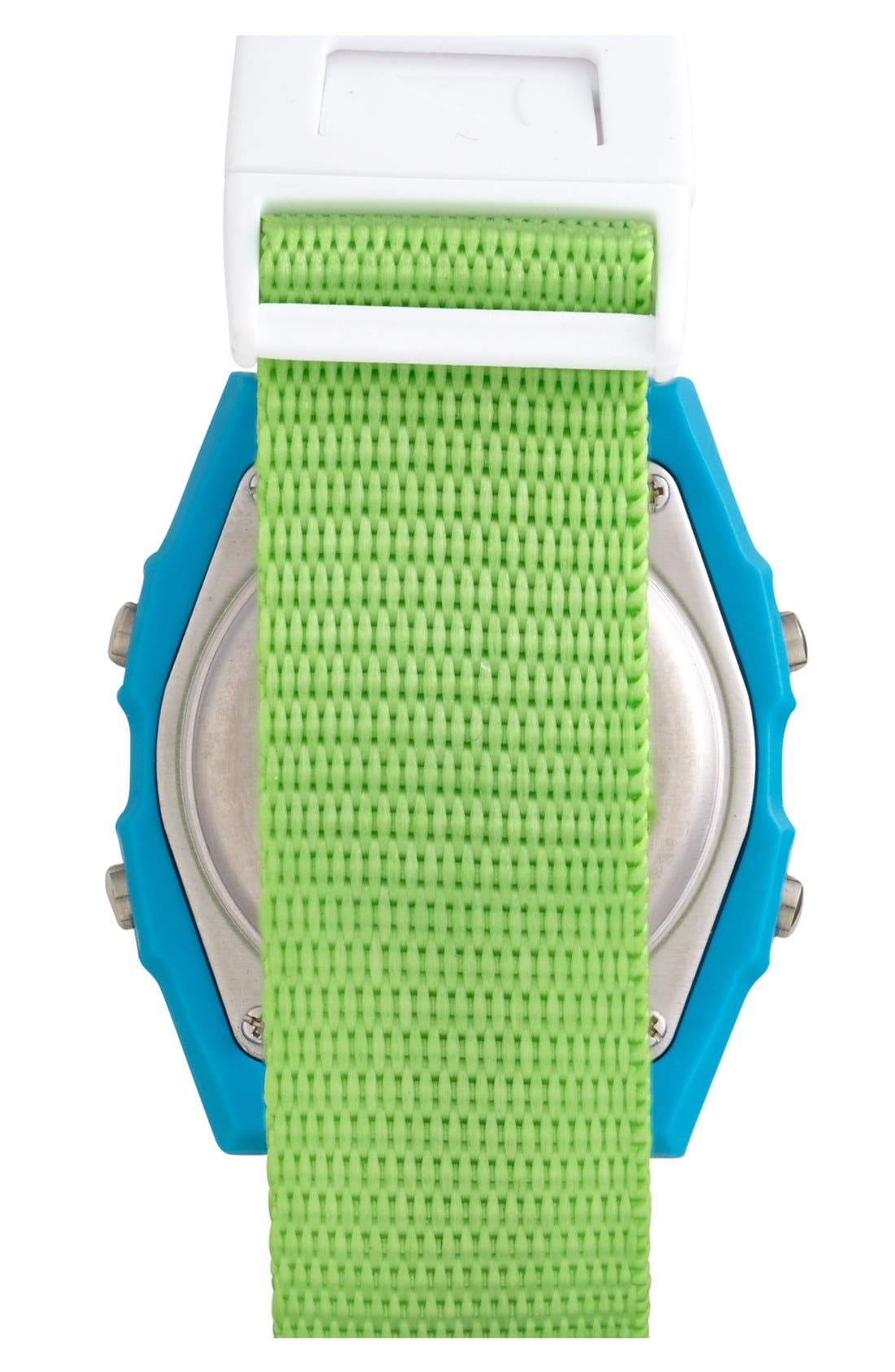 'Shark Clip' Digital Watch, 38mm,                             Alternate thumbnail 3, color,                             300