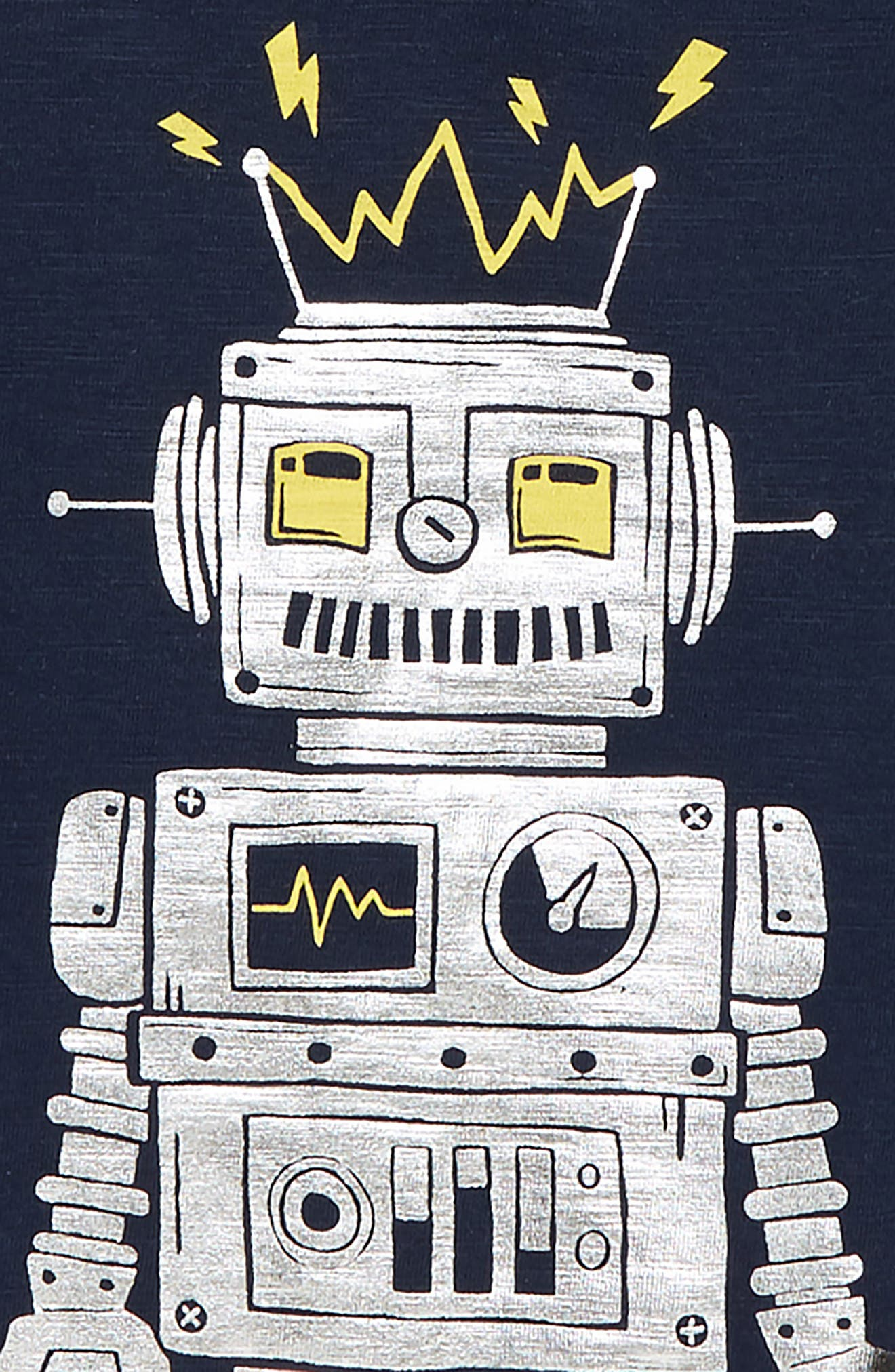 Robot Graphic T-Shirt,                             Alternate thumbnail 2, color,                             400