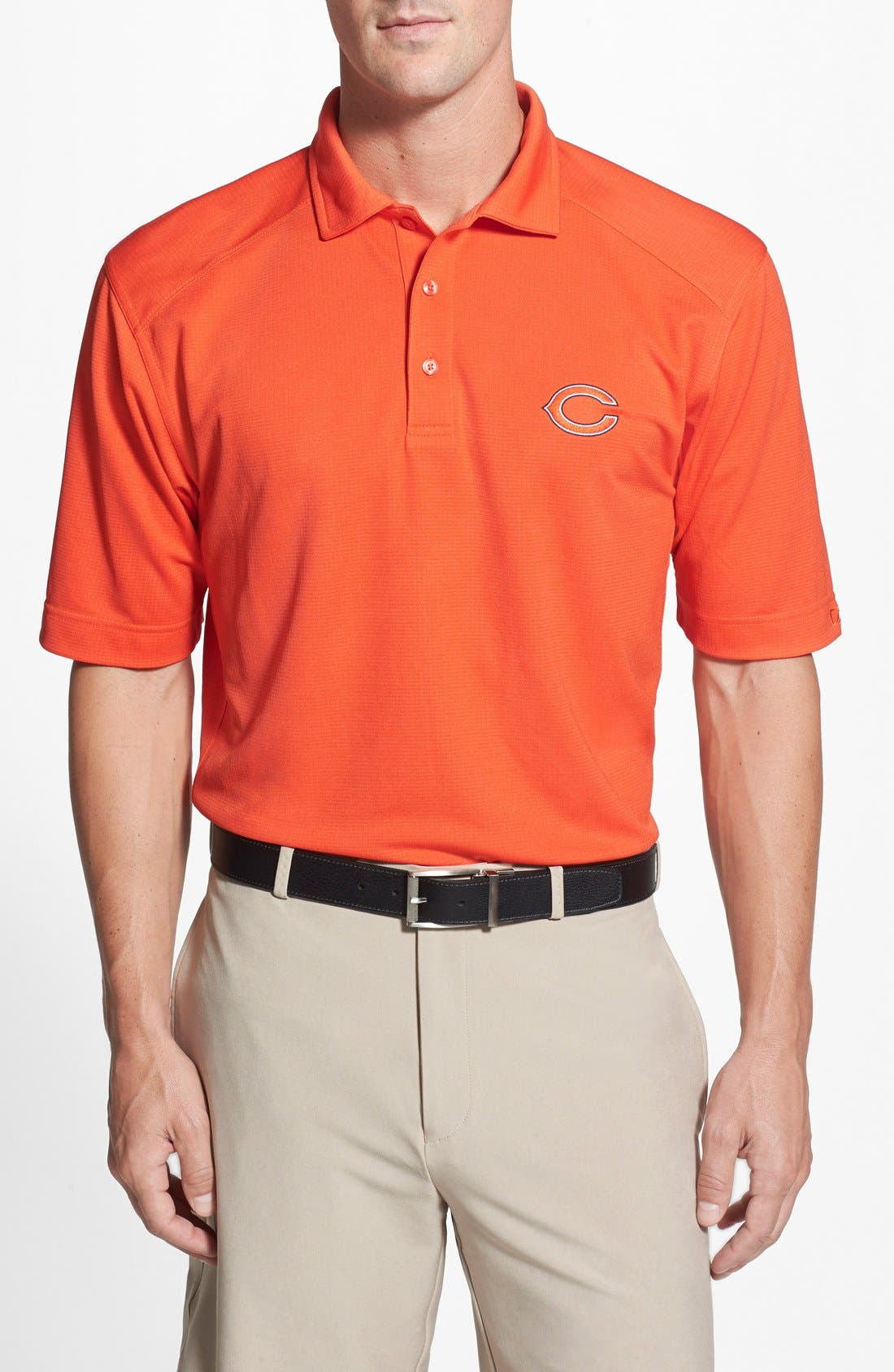Chicago Bears - Genre DryTec Moisture Wicking Polo,                             Main thumbnail 1, color,