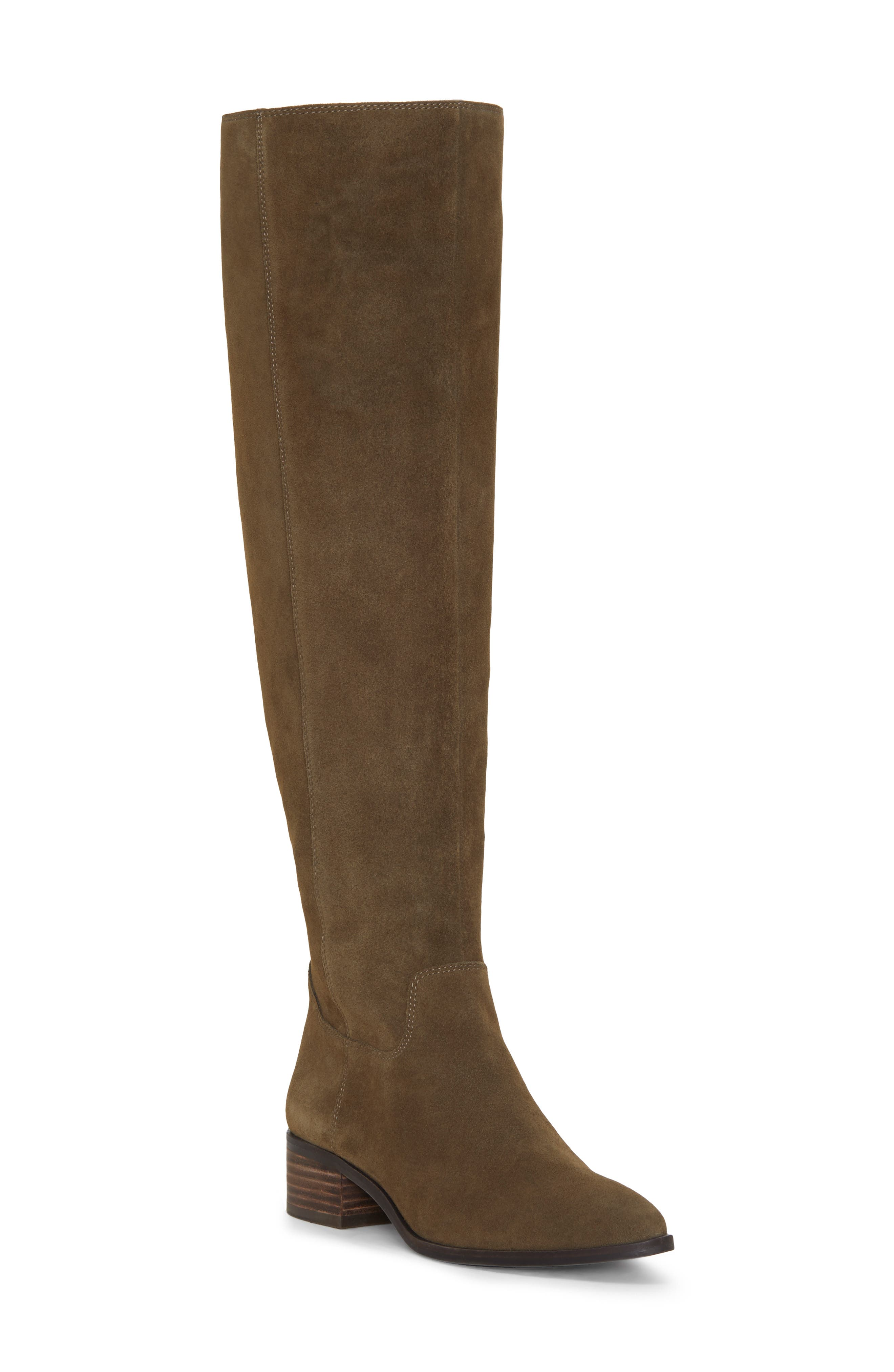 Lucky Brand Kitrie Tall Boot- Green
