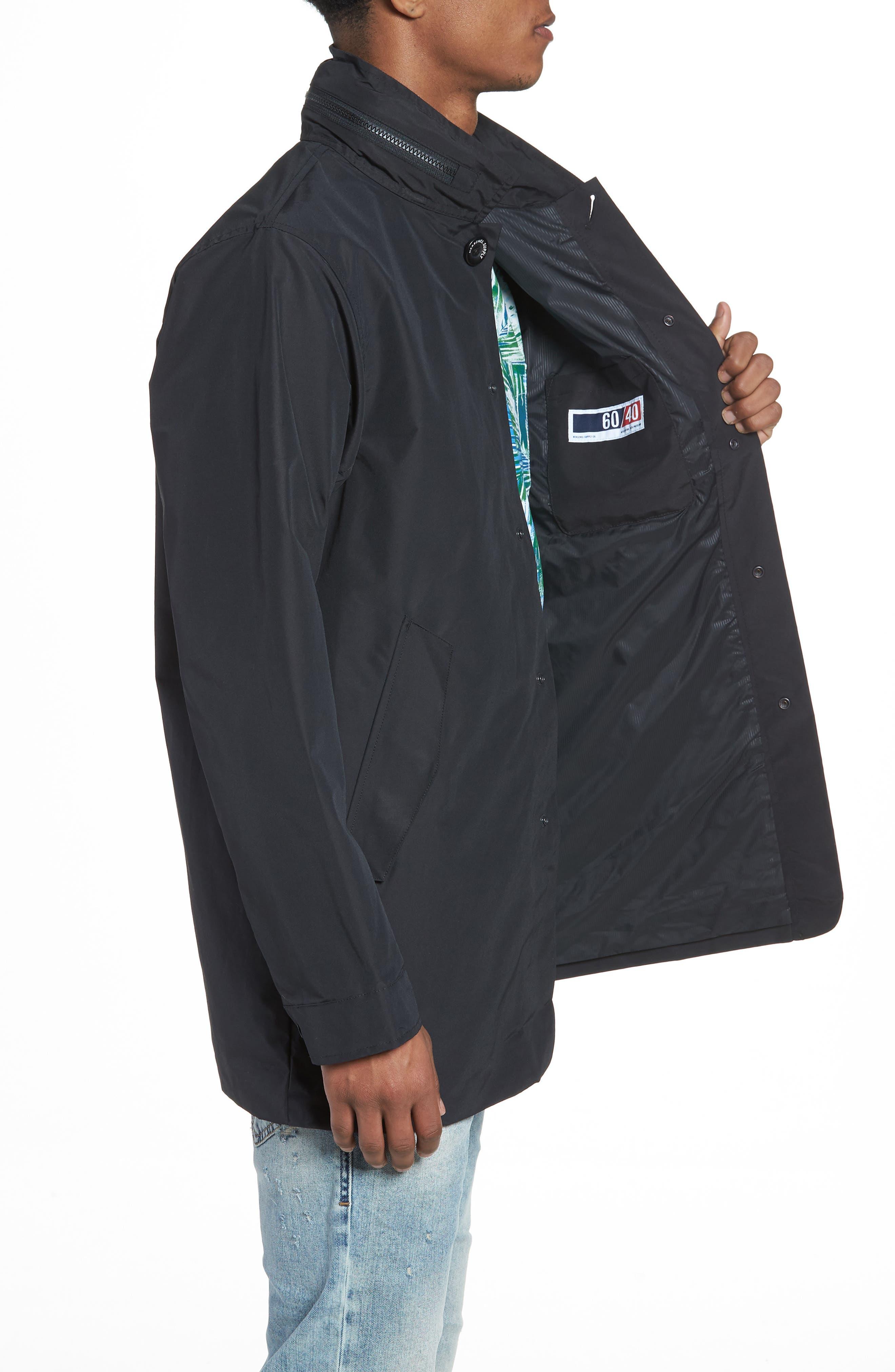 Stowaway Mac Jacket,                             Alternate thumbnail 3, color,                             001