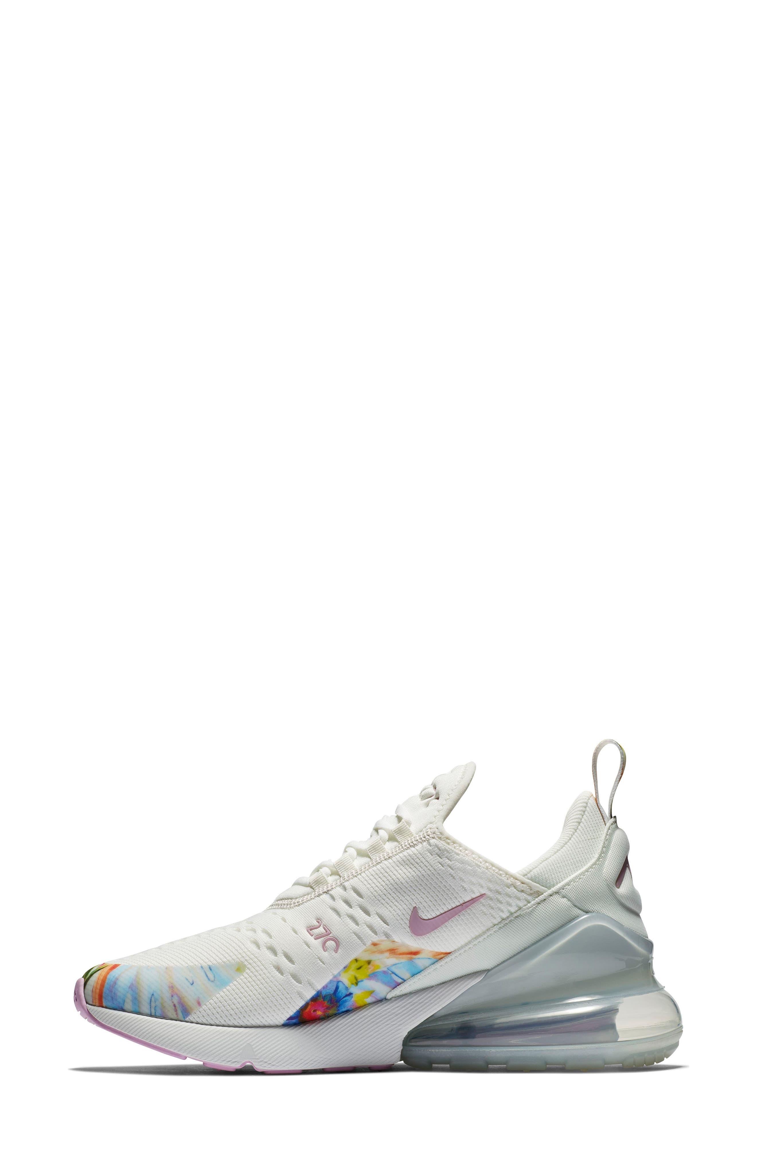 Air Max 270 Premium Sneaker,                             Alternate thumbnail 6, color,                             100