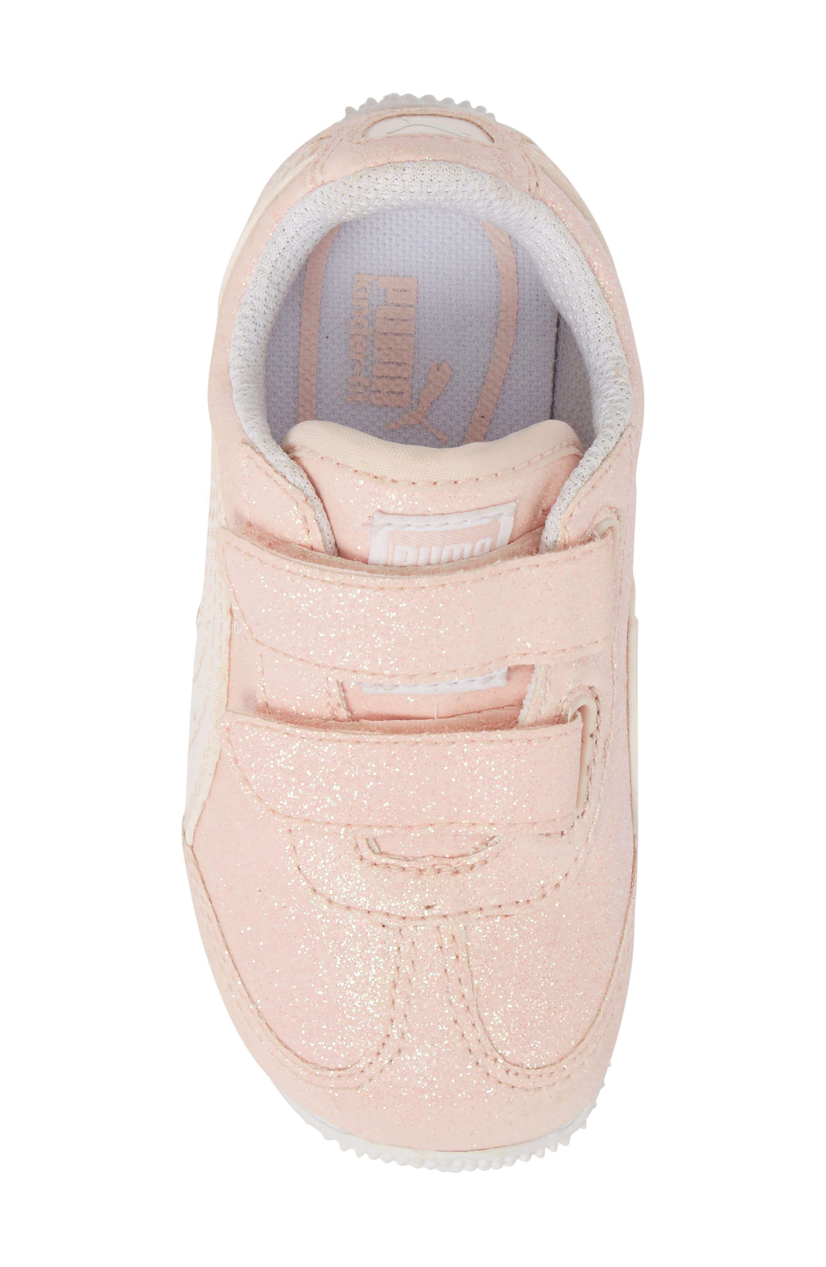 Whirlwind Glitz Sneaker,                             Alternate thumbnail 5, color,                             PEARL/ PUMA WHITE