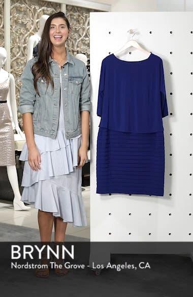 Shutter Pleat Popover Sheath Dress, sales video thumbnail