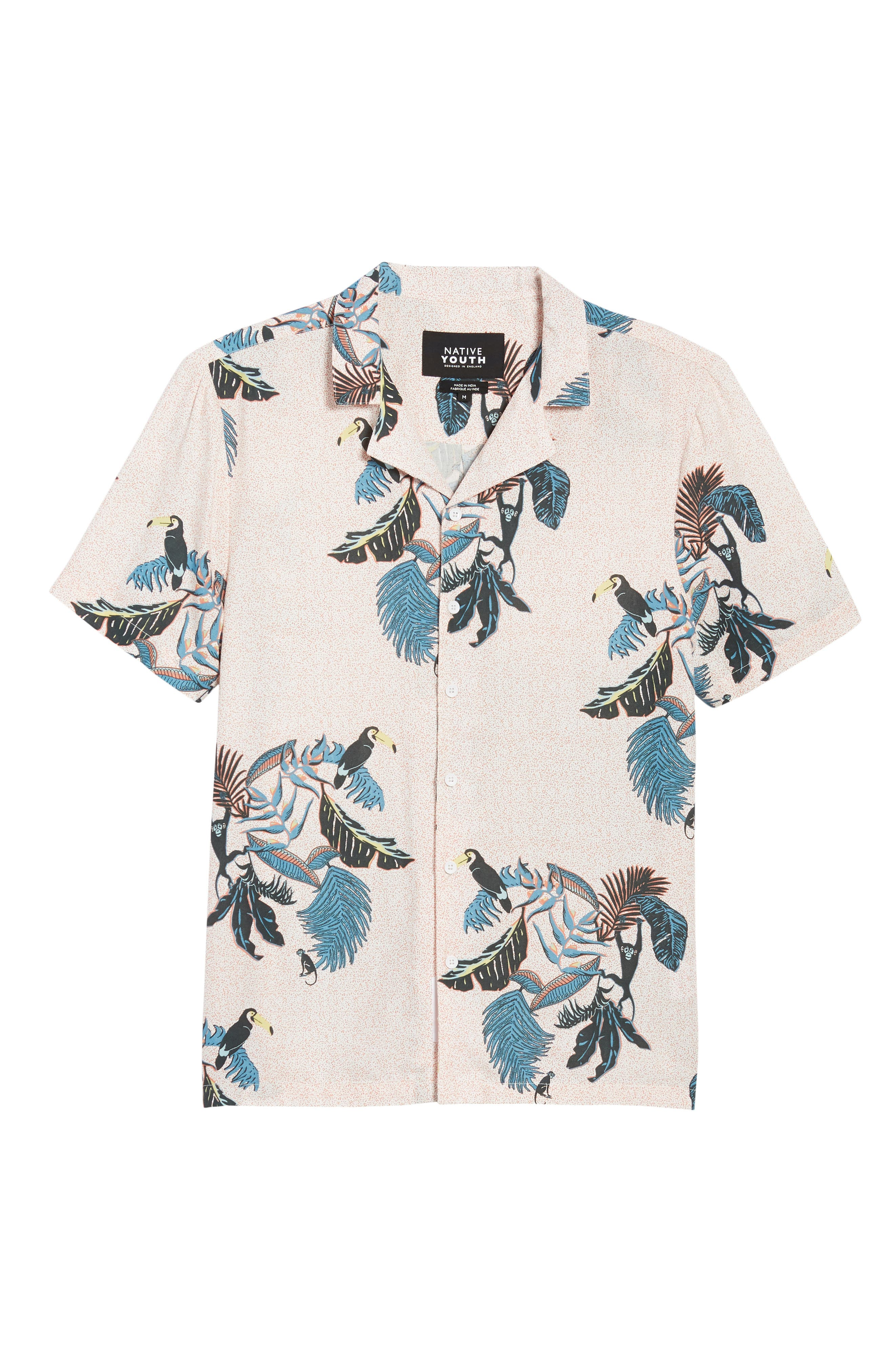 Jangala Woven Shirt,                             Alternate thumbnail 6, color,                             PINK