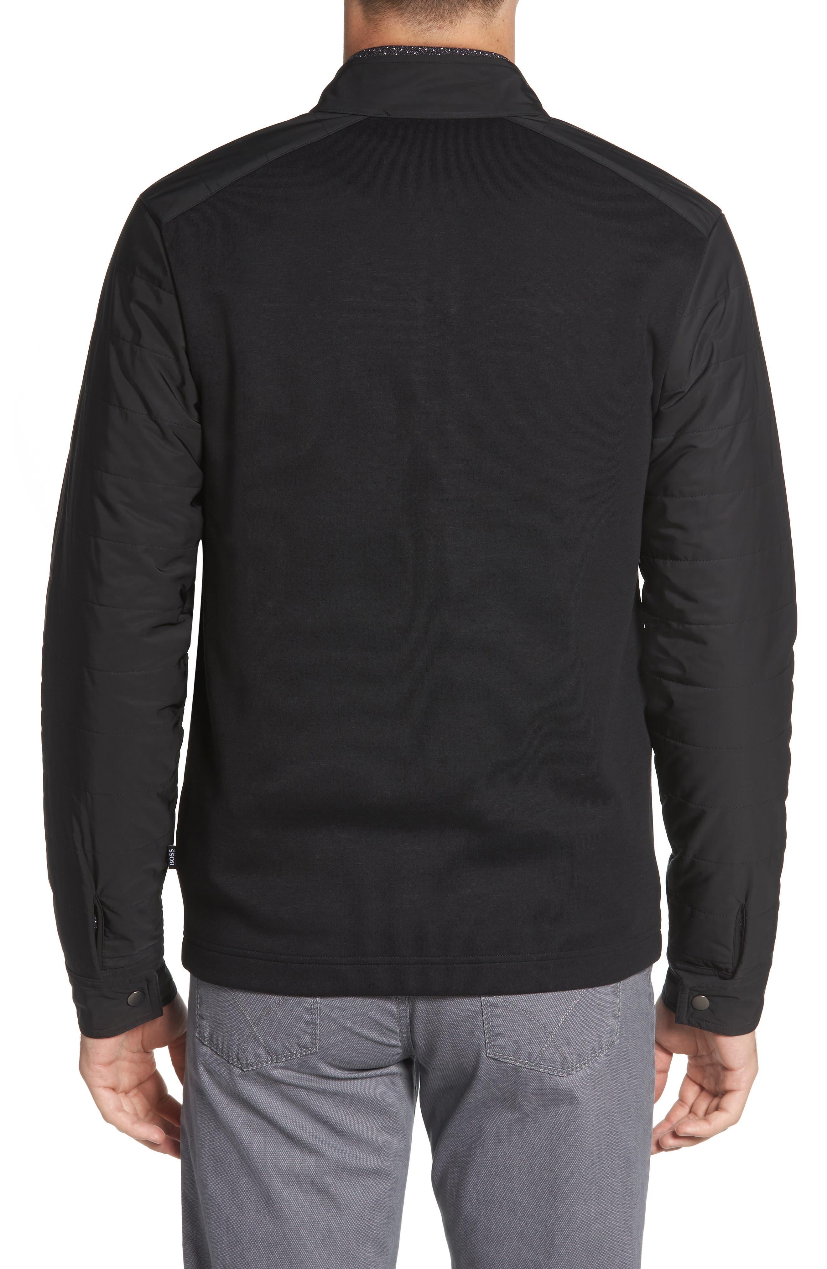 Soule Slim Fit Moto Jacket,                             Alternate thumbnail 2, color,                             BLACK
