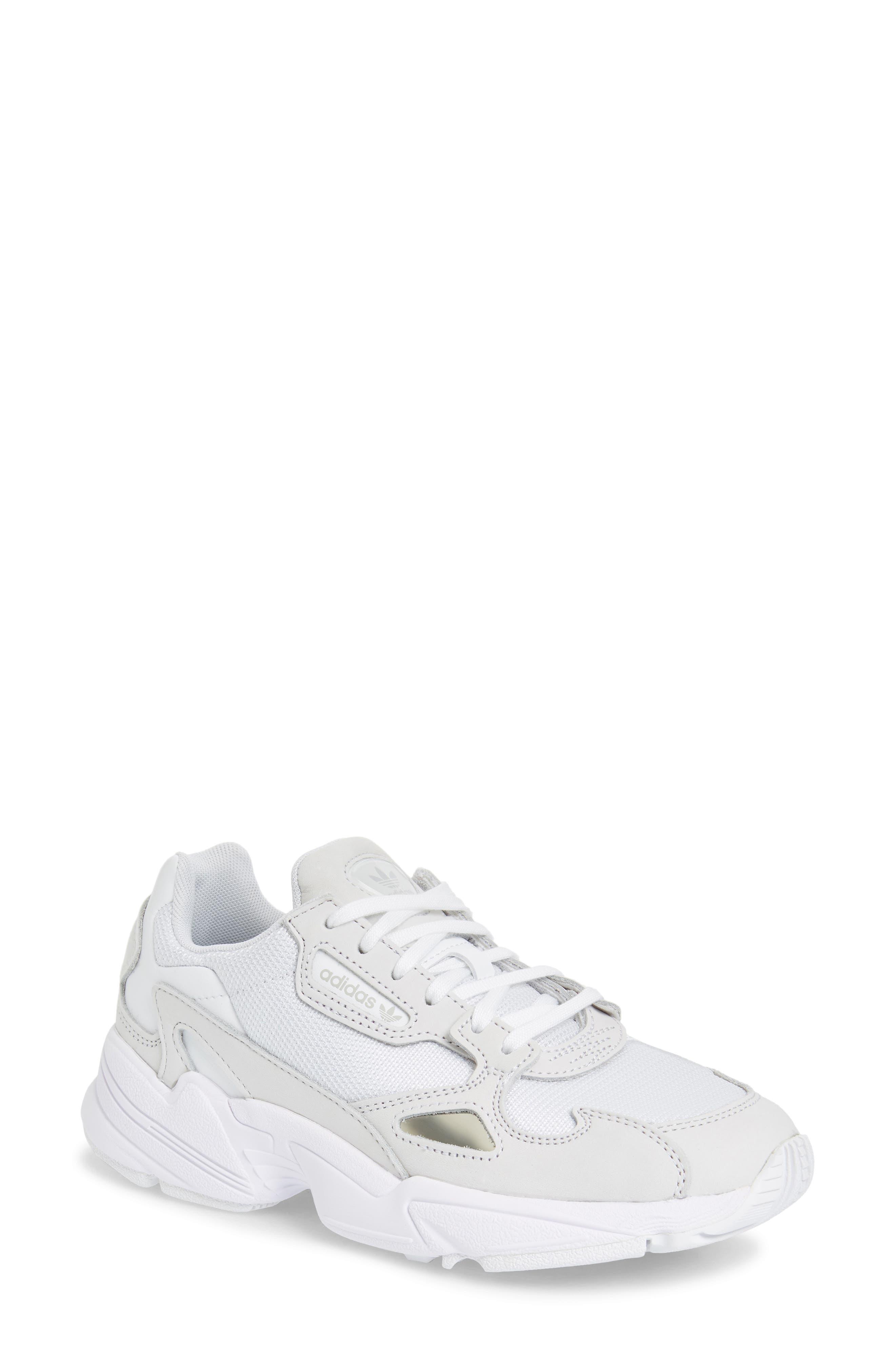 Falcon Sneaker, Main, color, WHITE