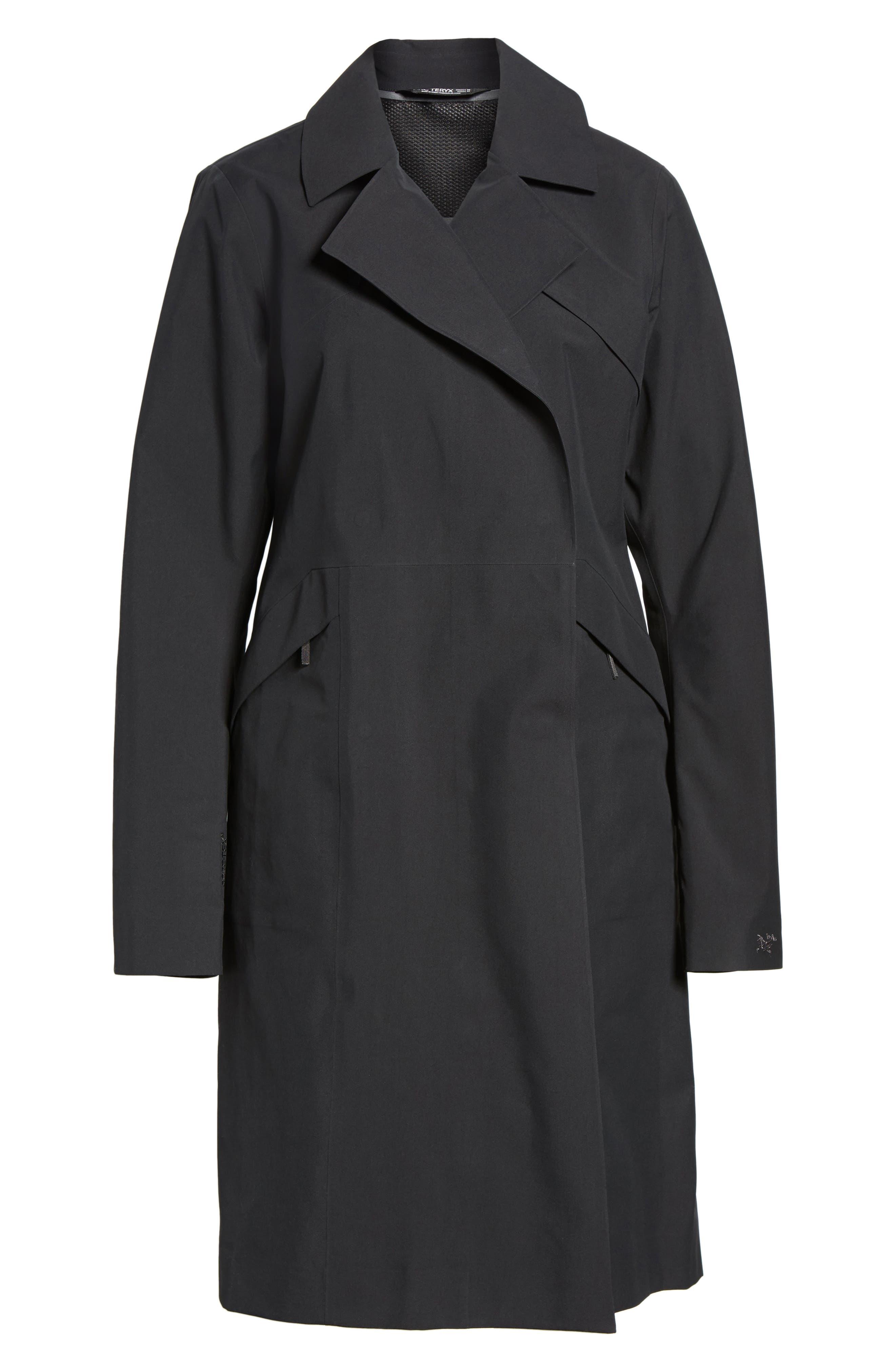 Nila Gore-Tex<sup>®</sup> Trench Coat,                             Alternate thumbnail 9, color,