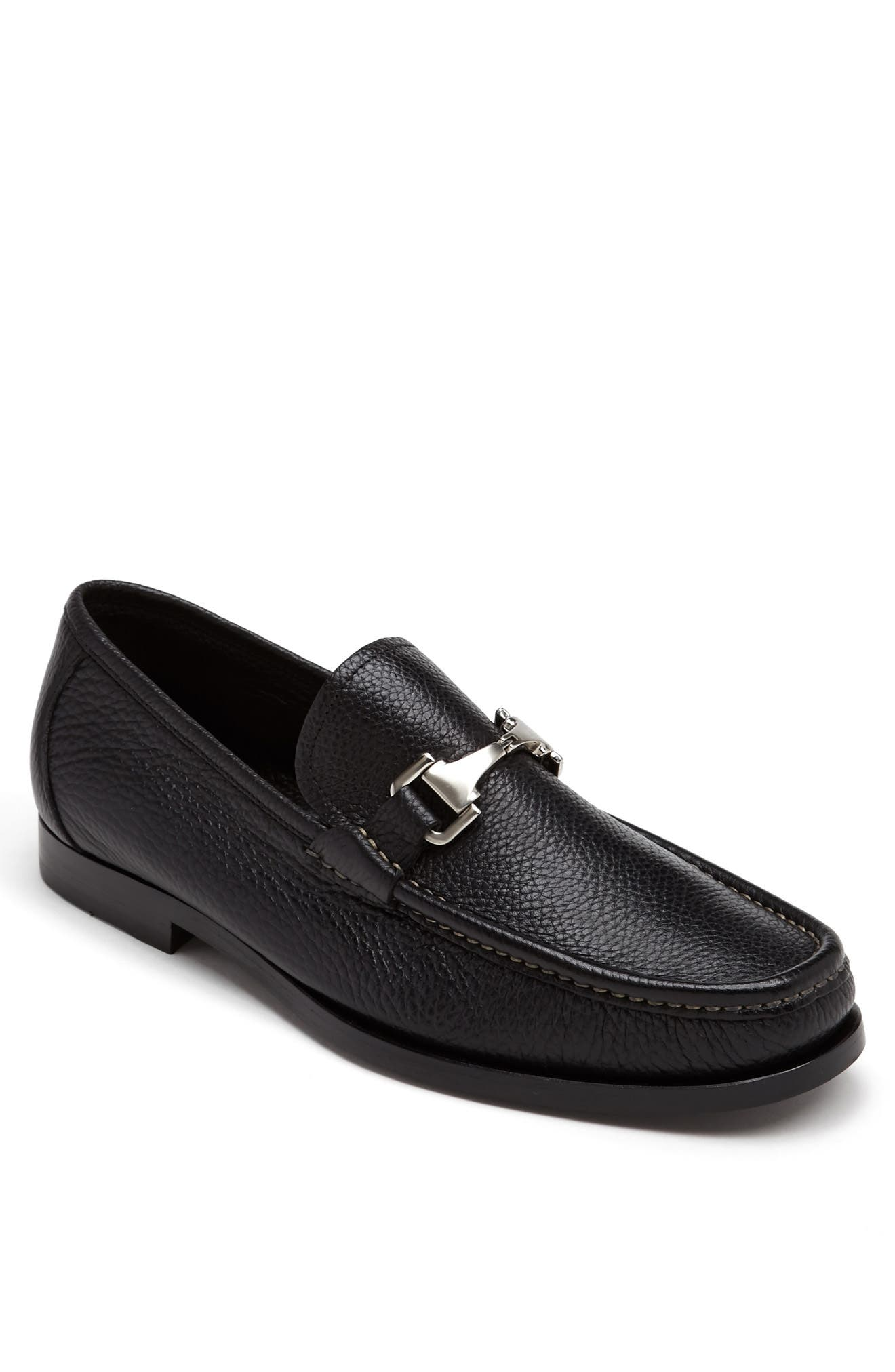 'Firenze' Bit Loafer,                             Alternate thumbnail 6, color,                             001