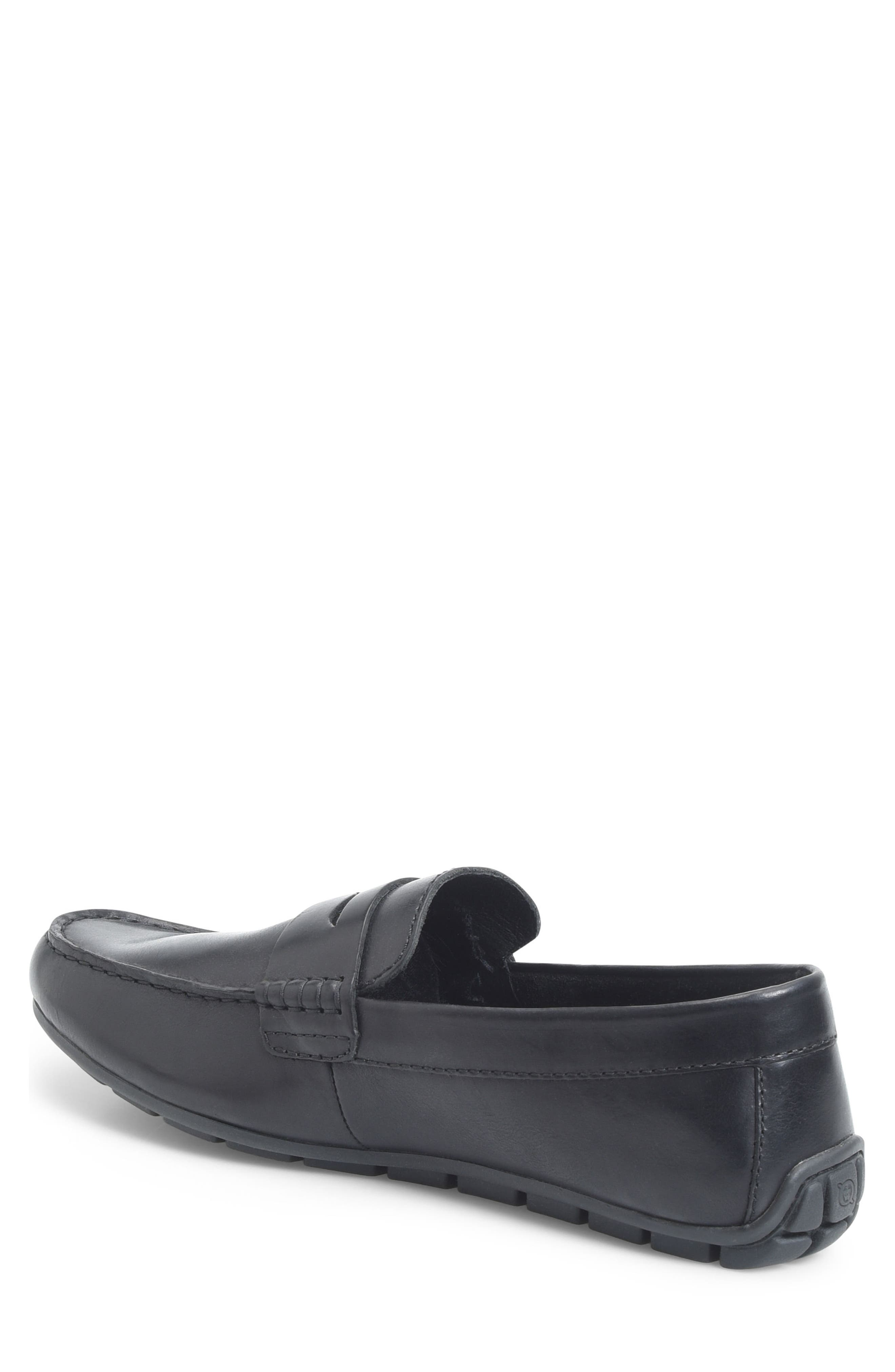 Andes Driving Shoe,                             Alternate thumbnail 2, color,                             BLACK