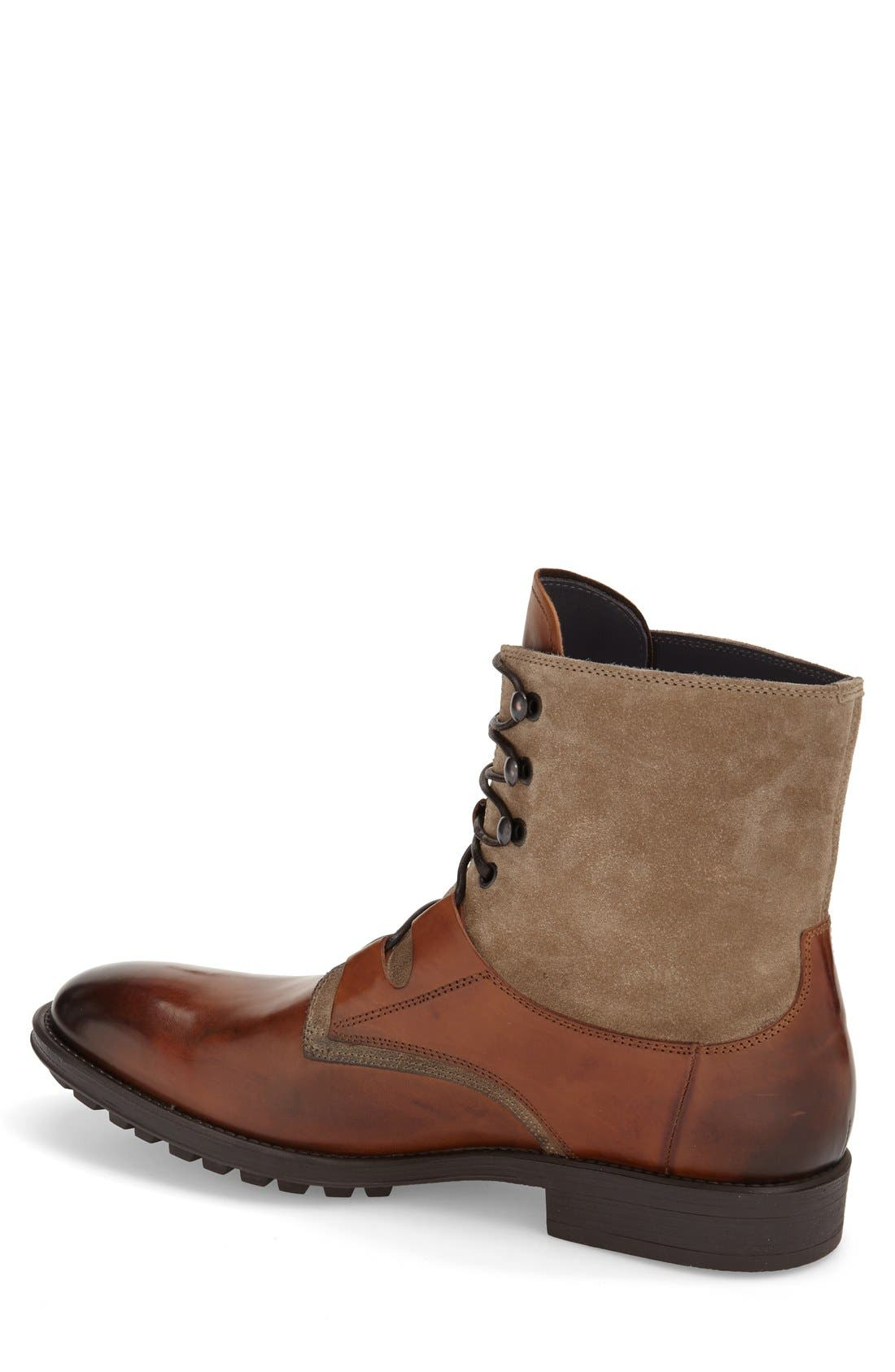 'Blake' Lace-Up Boot,                             Alternate thumbnail 2, color,                             221