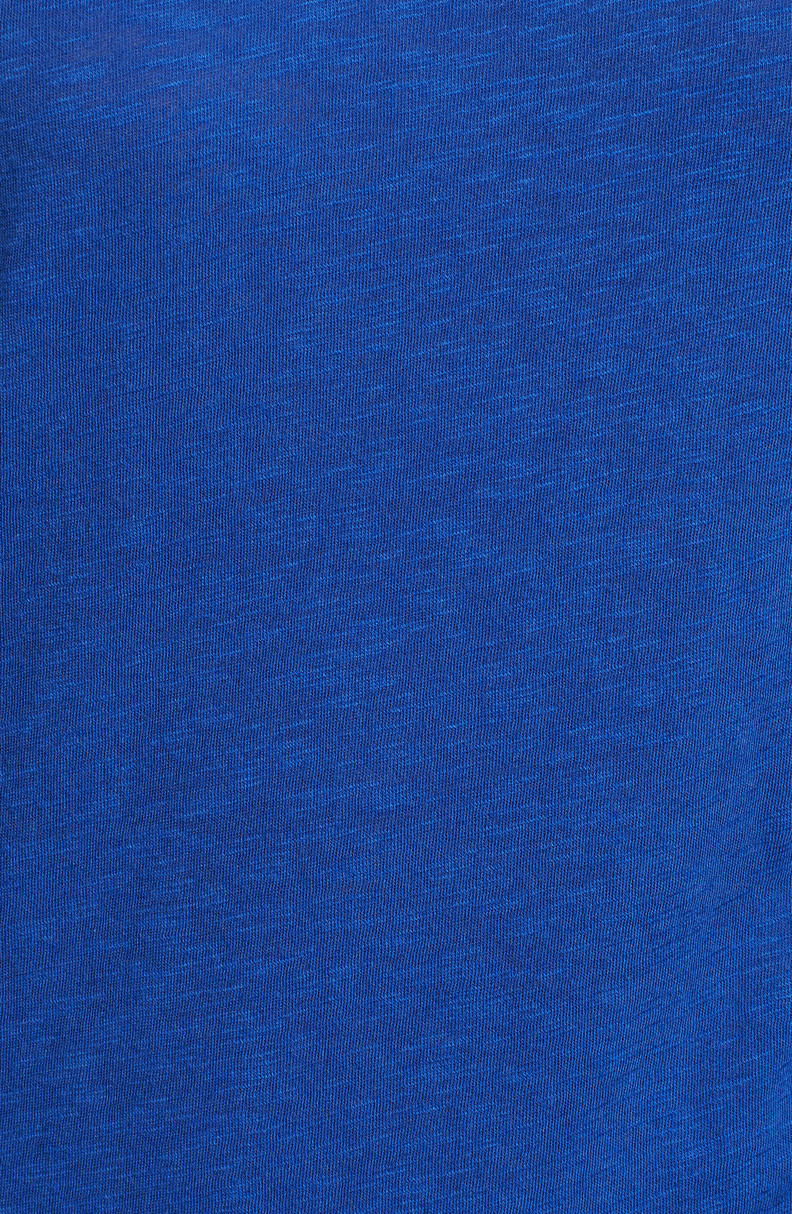 Long Sleeve Crewneck Tee,                             Alternate thumbnail 7, color,                             BLUE MAZARINE