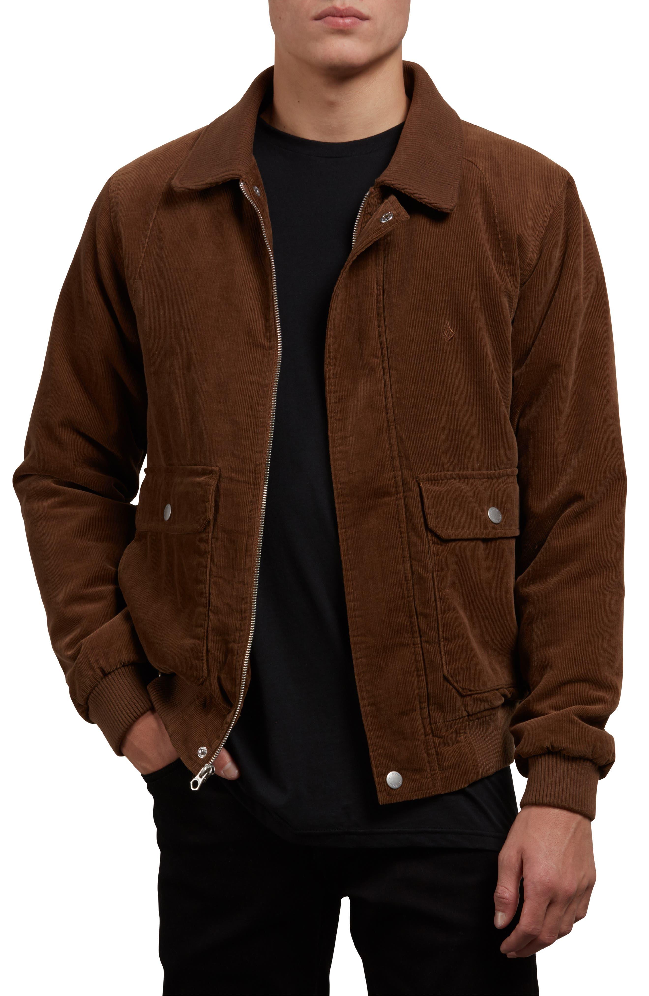 Domjohn Corduroy Jacket,                         Main,                         color, MUD
