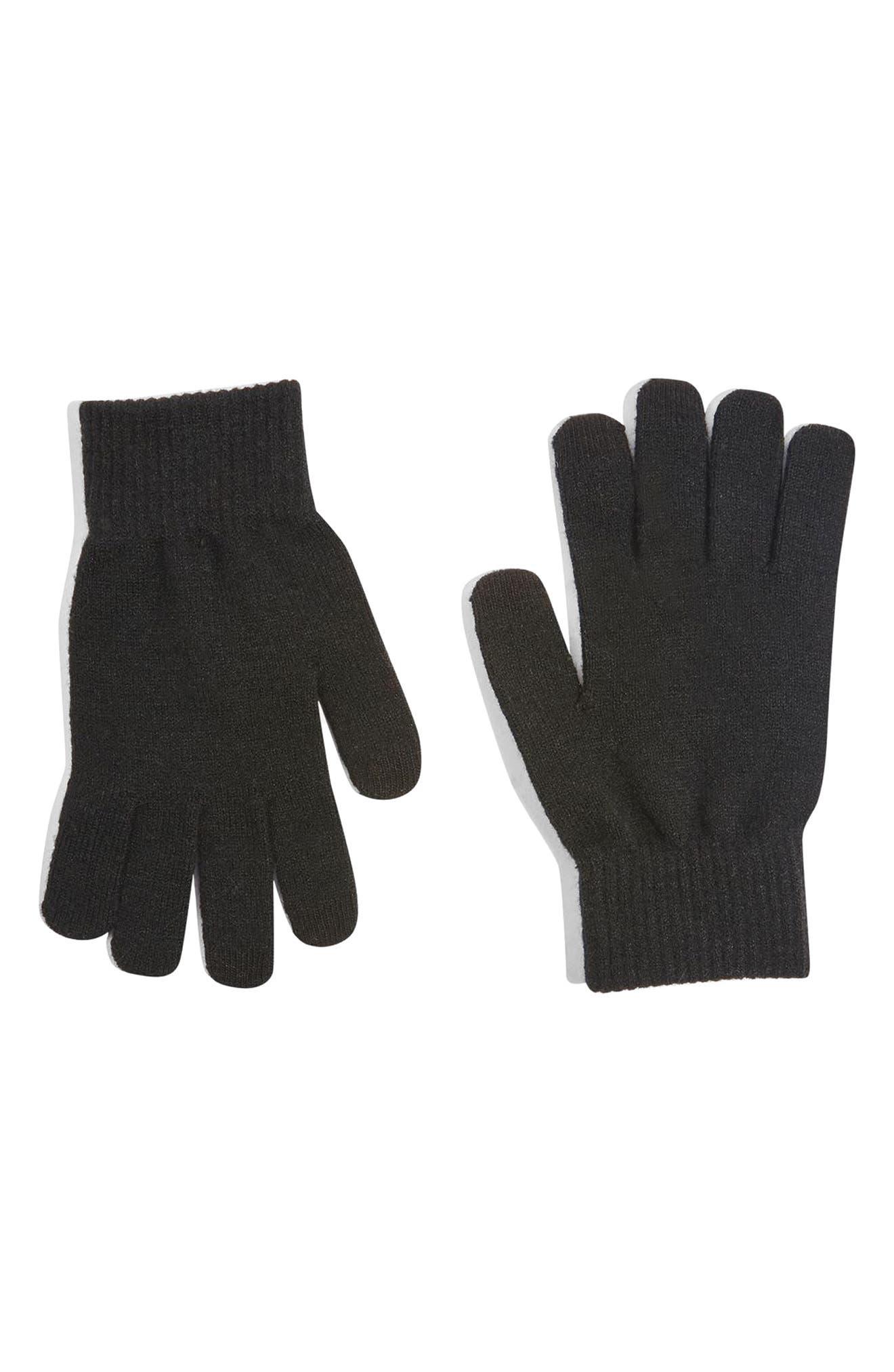 Core Winter Tech Gloves,                             Main thumbnail 1, color,                             001