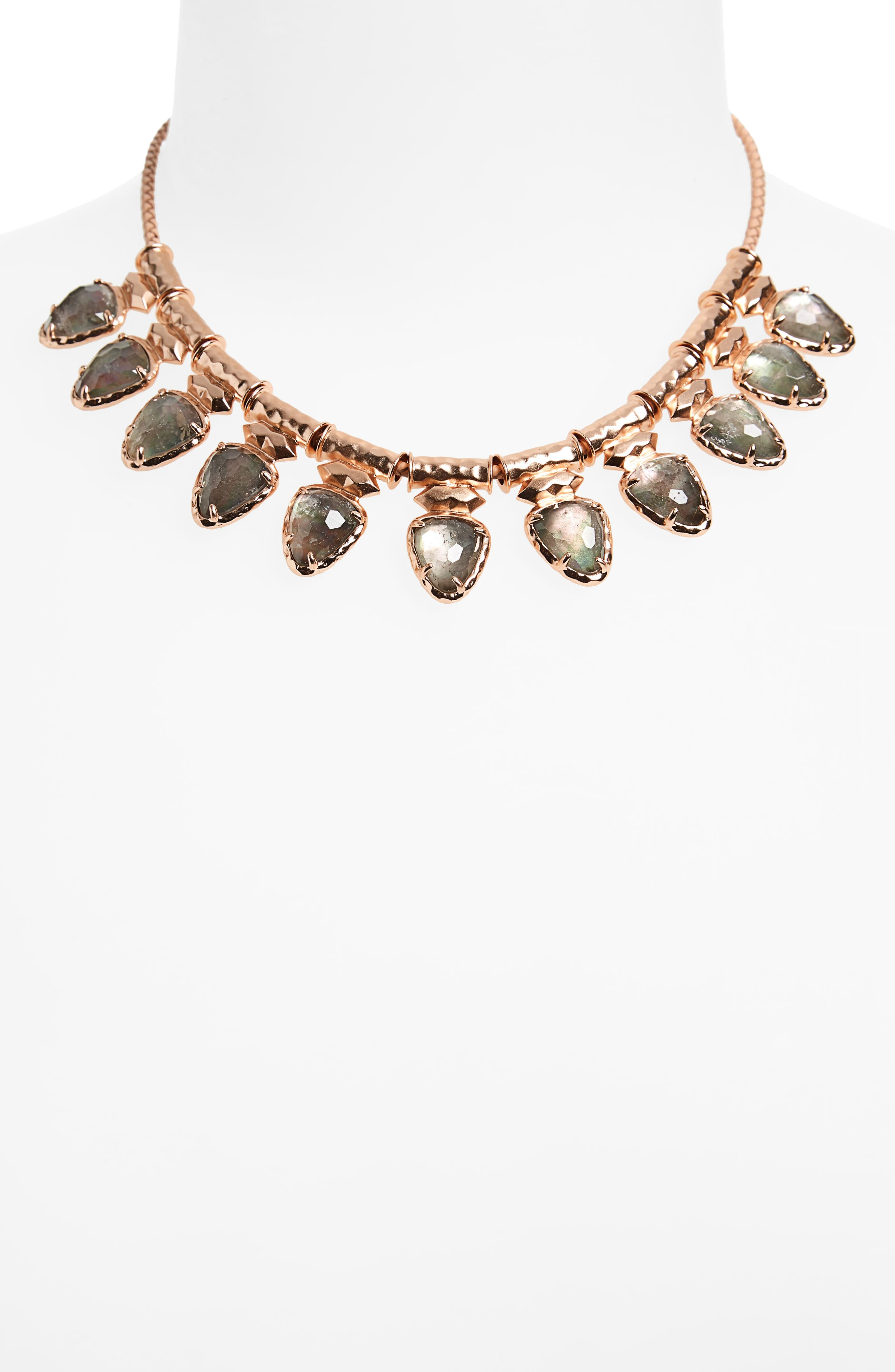 Willow Frontal Necklace,                             Alternate thumbnail 2, color,                             650